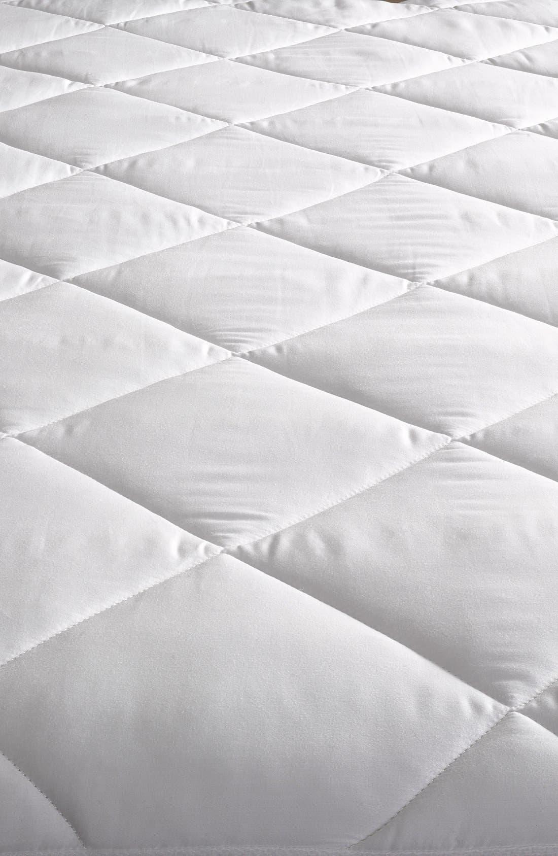 Mattress Pad,                             Main thumbnail 1, color,                             WHITE