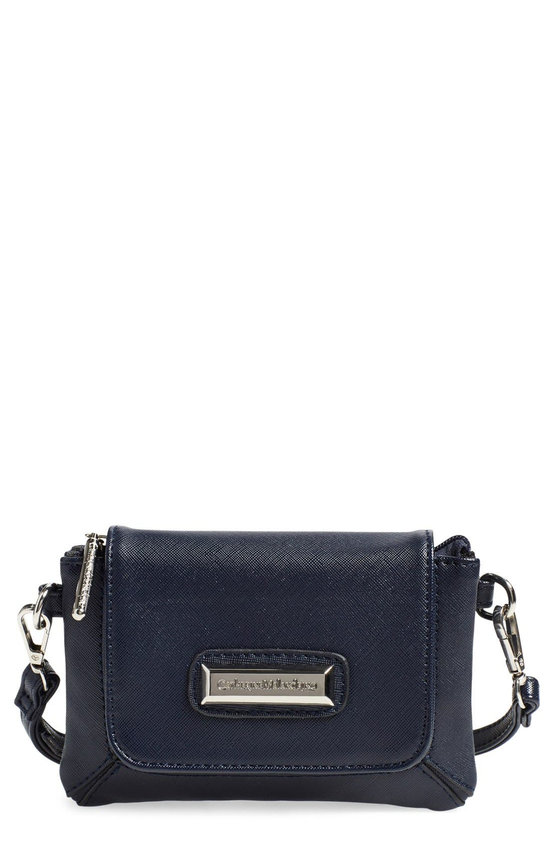 'Mini Clara' Crossbody Bag,                             Main thumbnail 1, color,                             020
