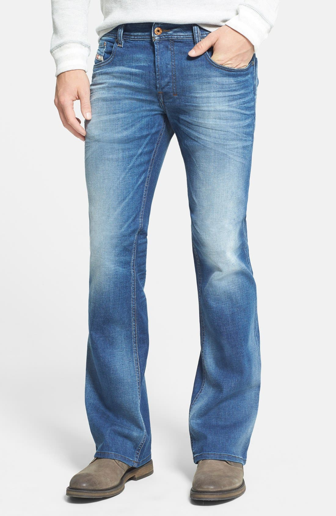 Zathan Bootcut Jeans,                         Main,                         color, 499
