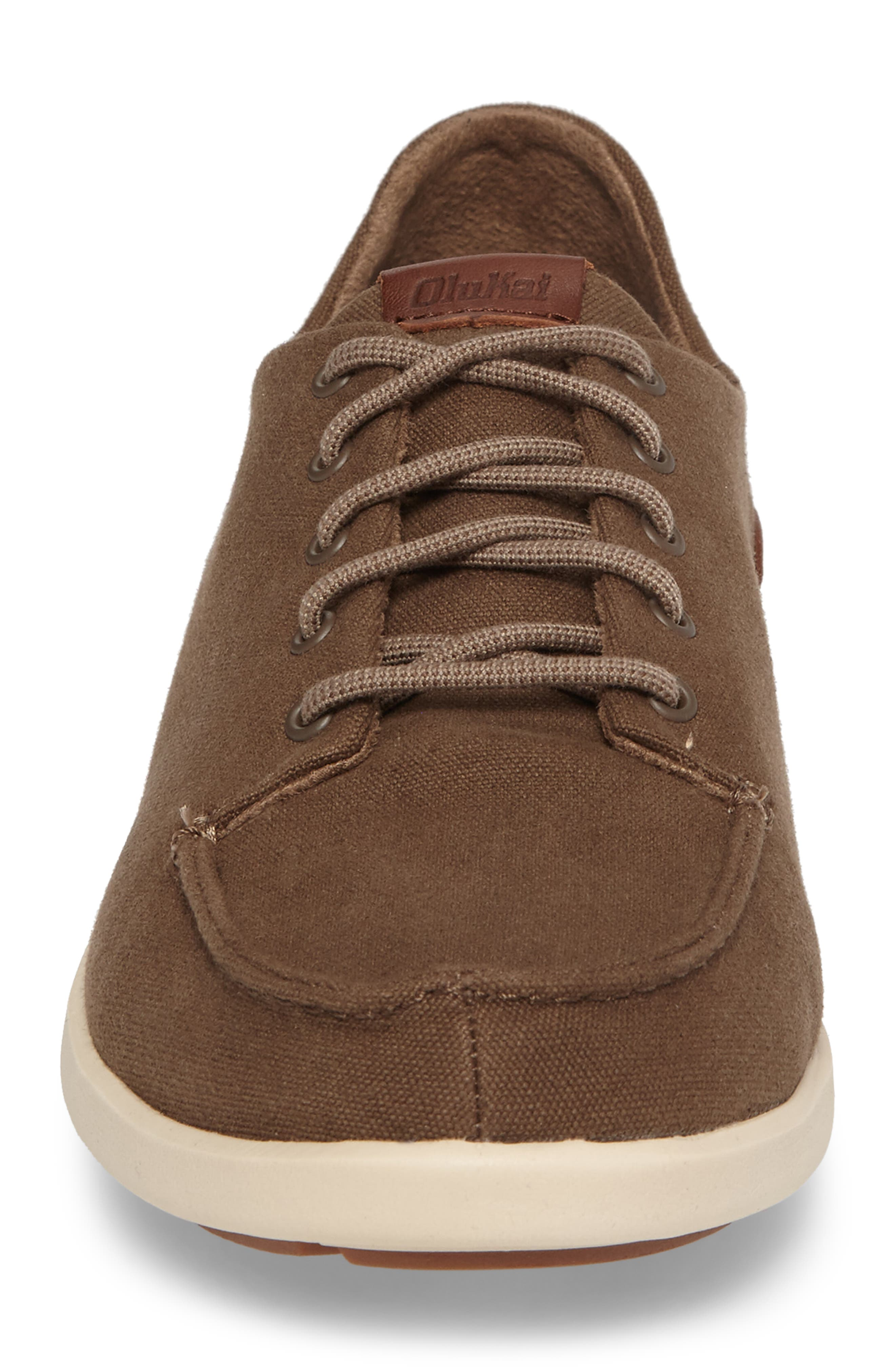 Manoa Sneaker,                             Alternate thumbnail 4, color,                             MUSTANG/ TOFFEE