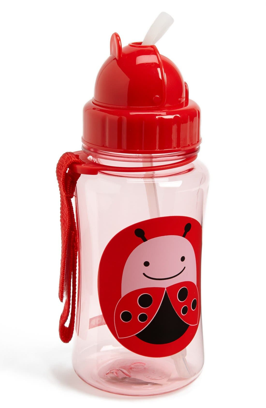 'Zoo' Bottle with Straw,                             Main thumbnail 2, color,