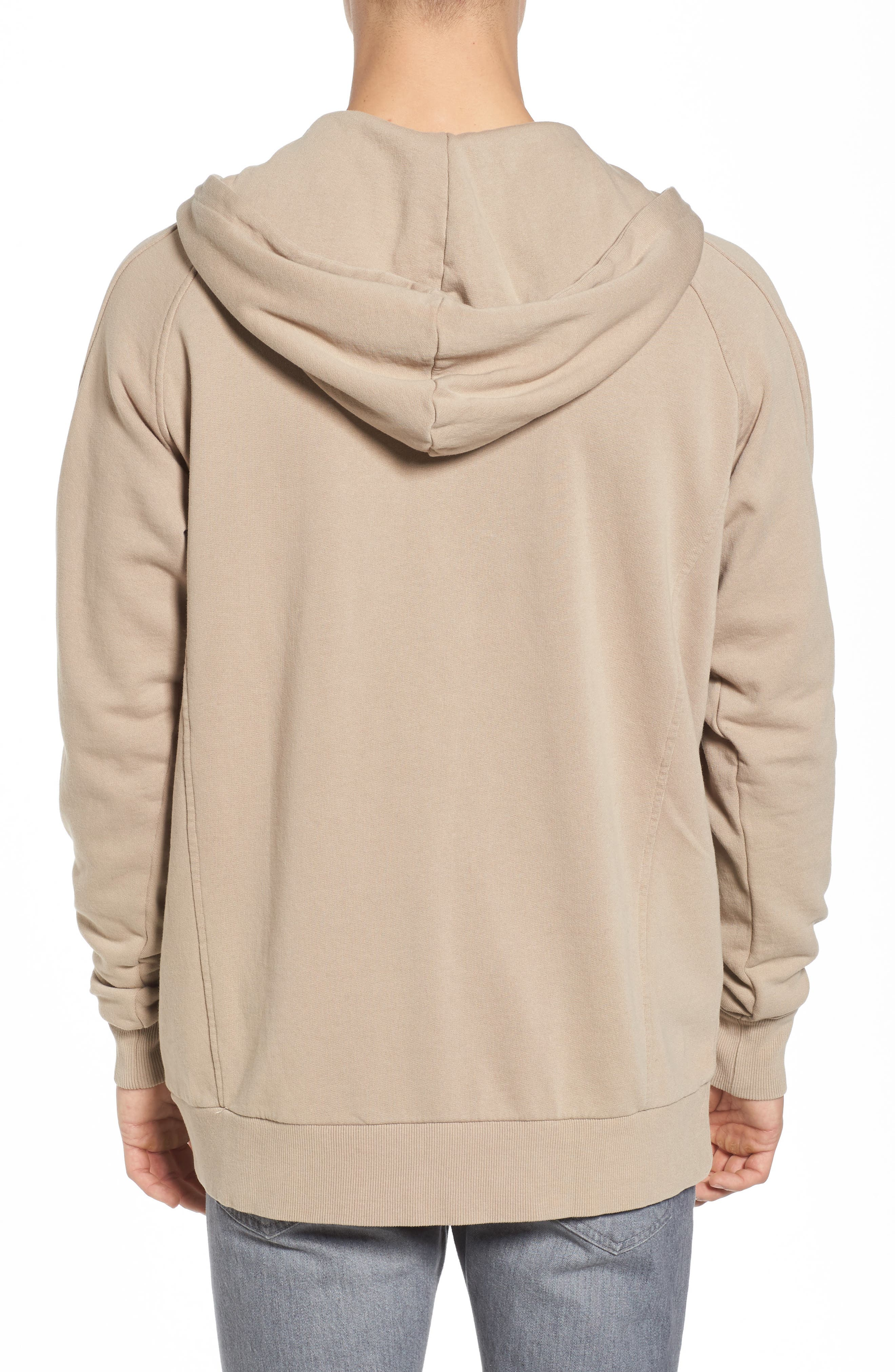 Olympic Zip Pullover Hoodie,                             Alternate thumbnail 2, color,                             260