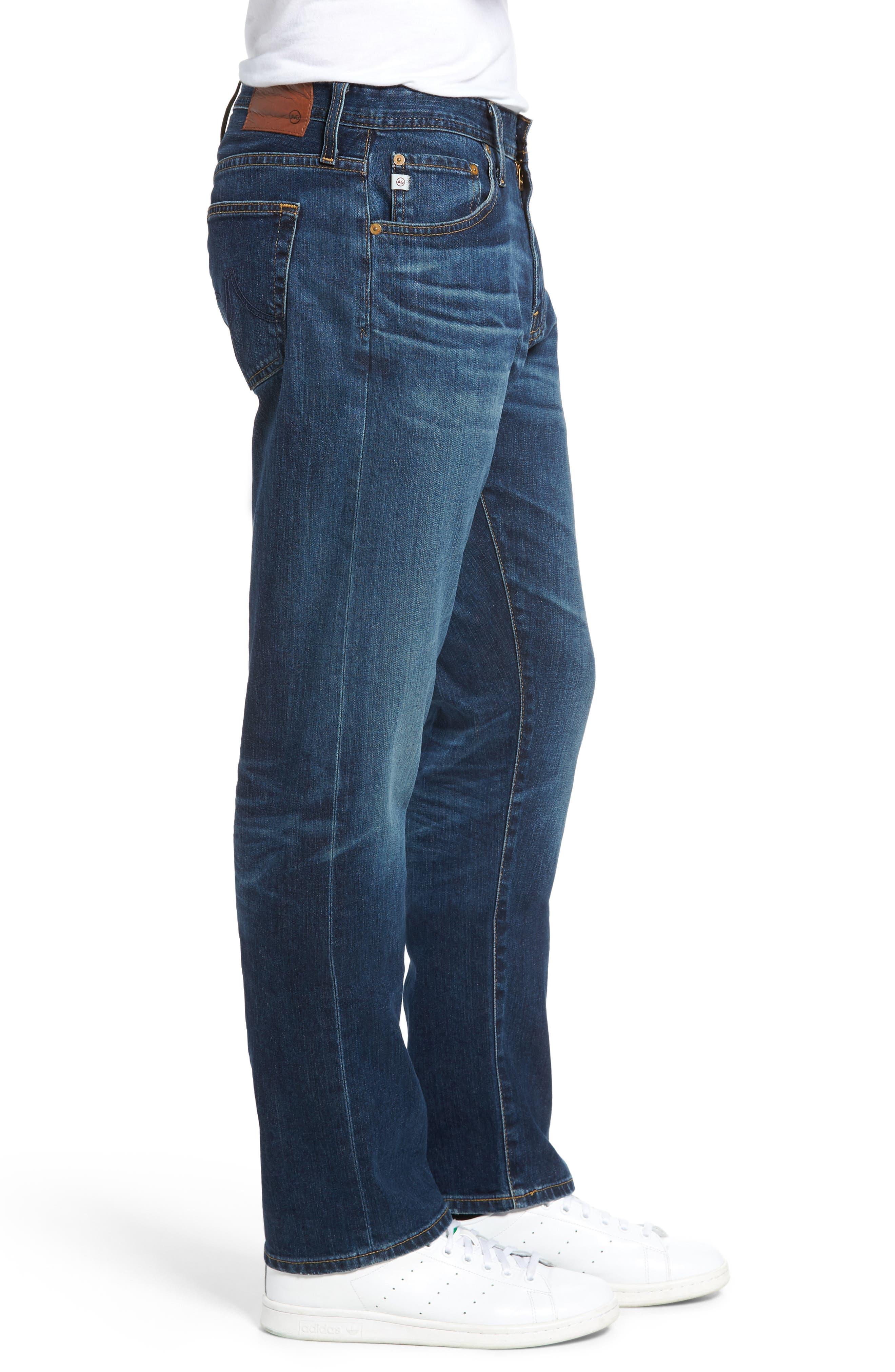 Ives Straight Leg Jeans,                             Alternate thumbnail 3, color,                             478
