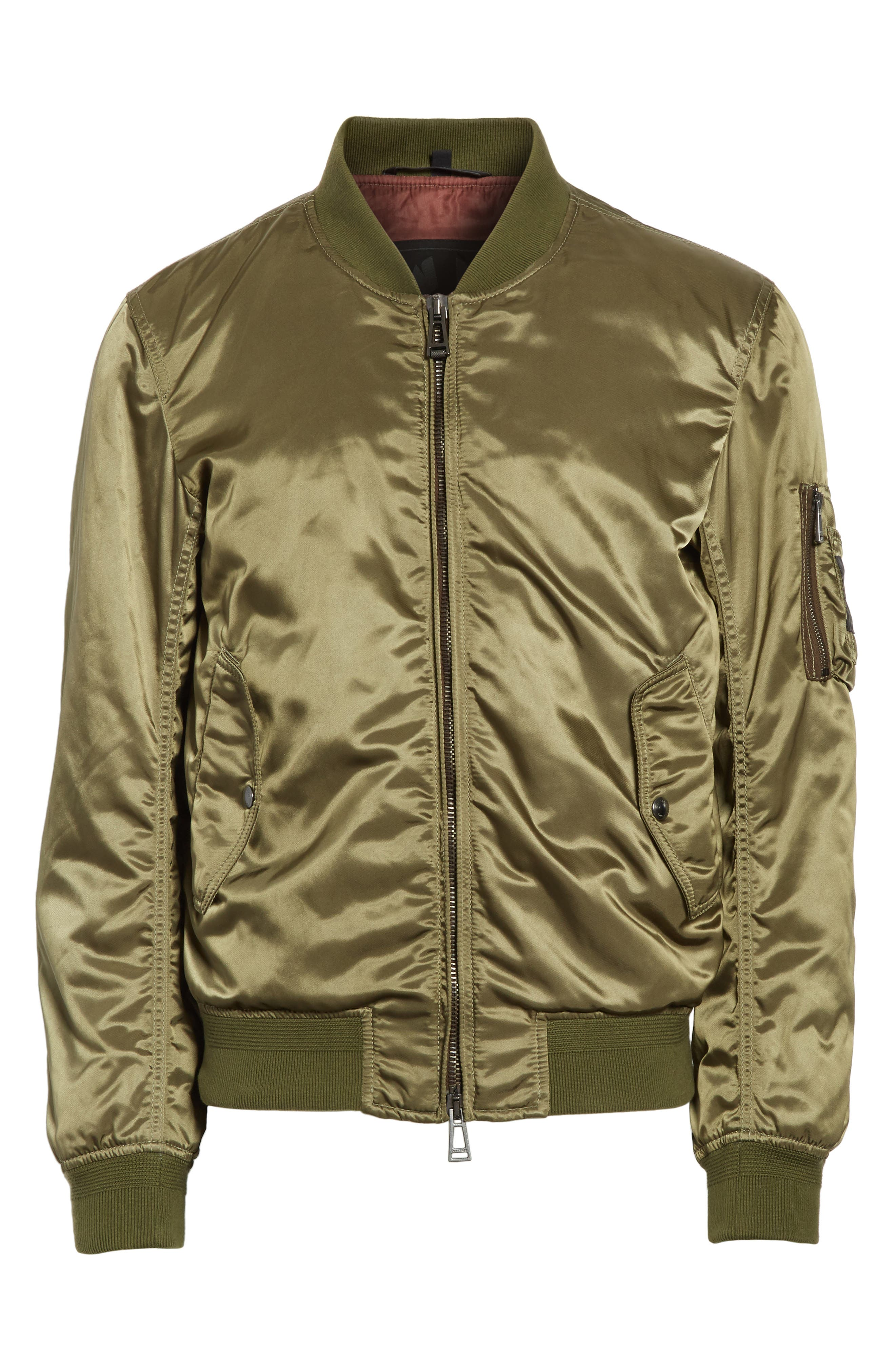 Washburn Bomber Jacket,                             Alternate thumbnail 5, color,                             330