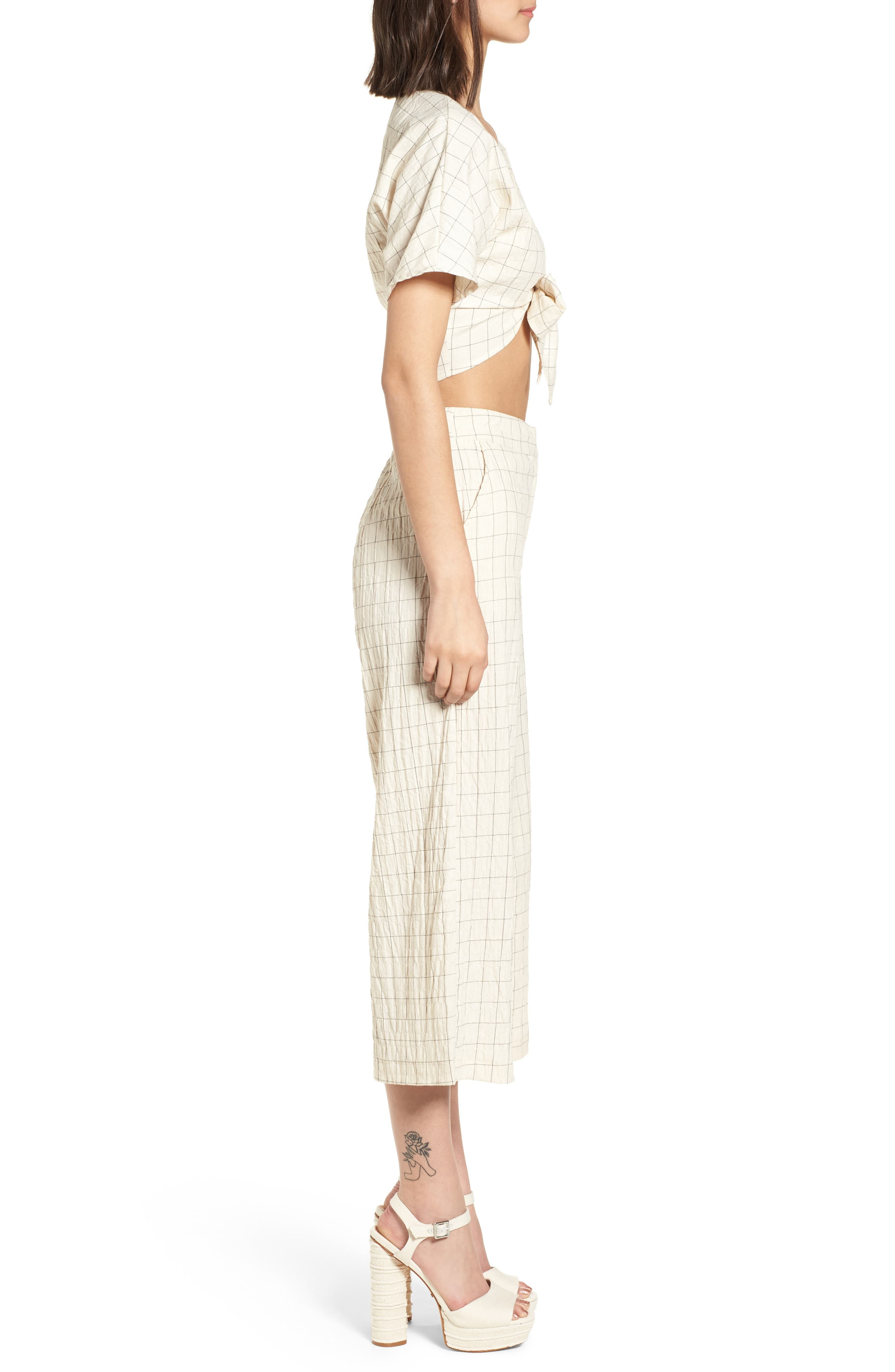 Plaid Culottes,                             Alternate thumbnail 10, color,                             250