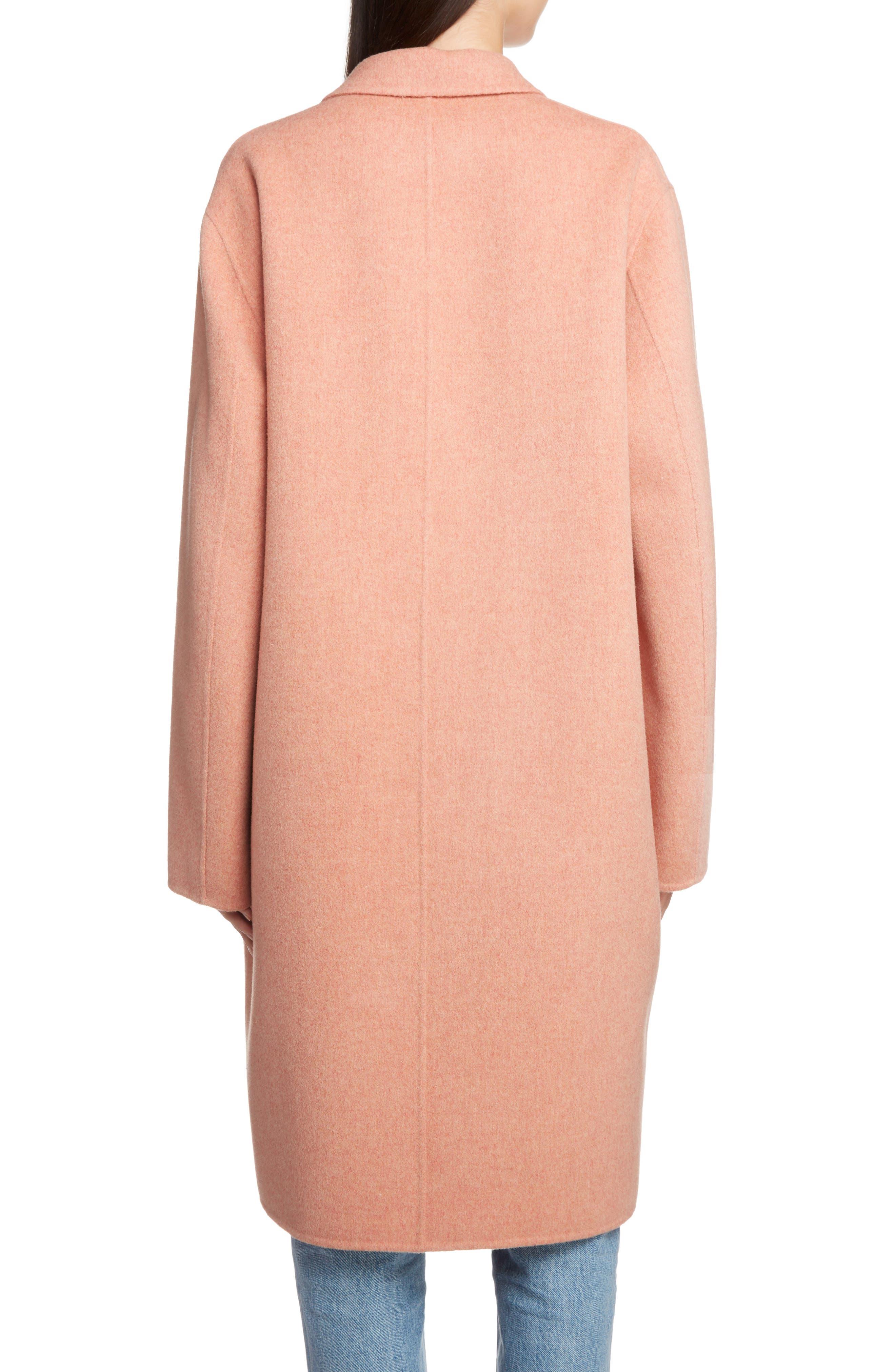 Double Wool & Cashmere Coat,                             Alternate thumbnail 2, color,                             650