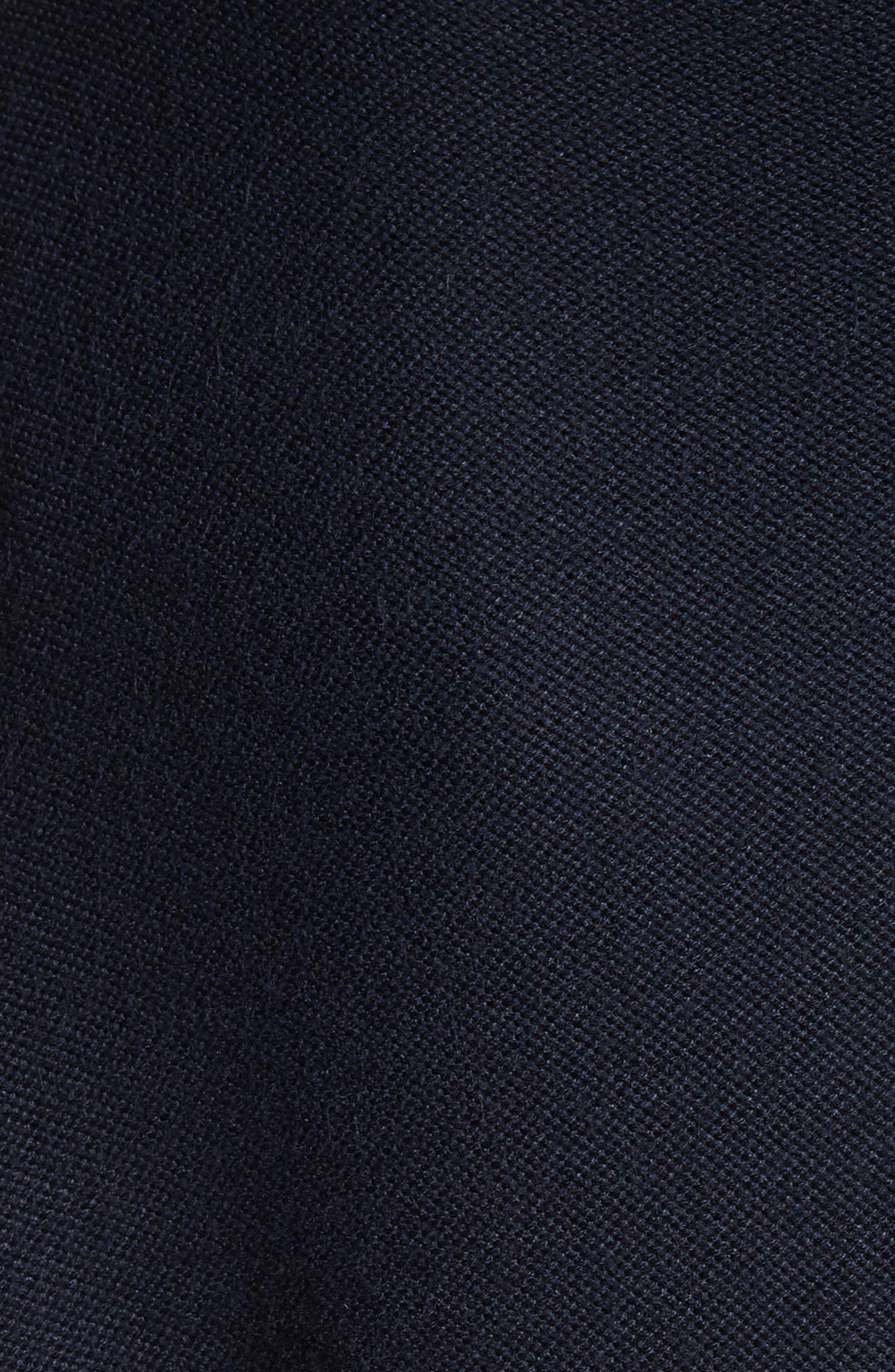 Hand Beaded Birdseye Knit Cardigan,                             Alternate thumbnail 5, color,