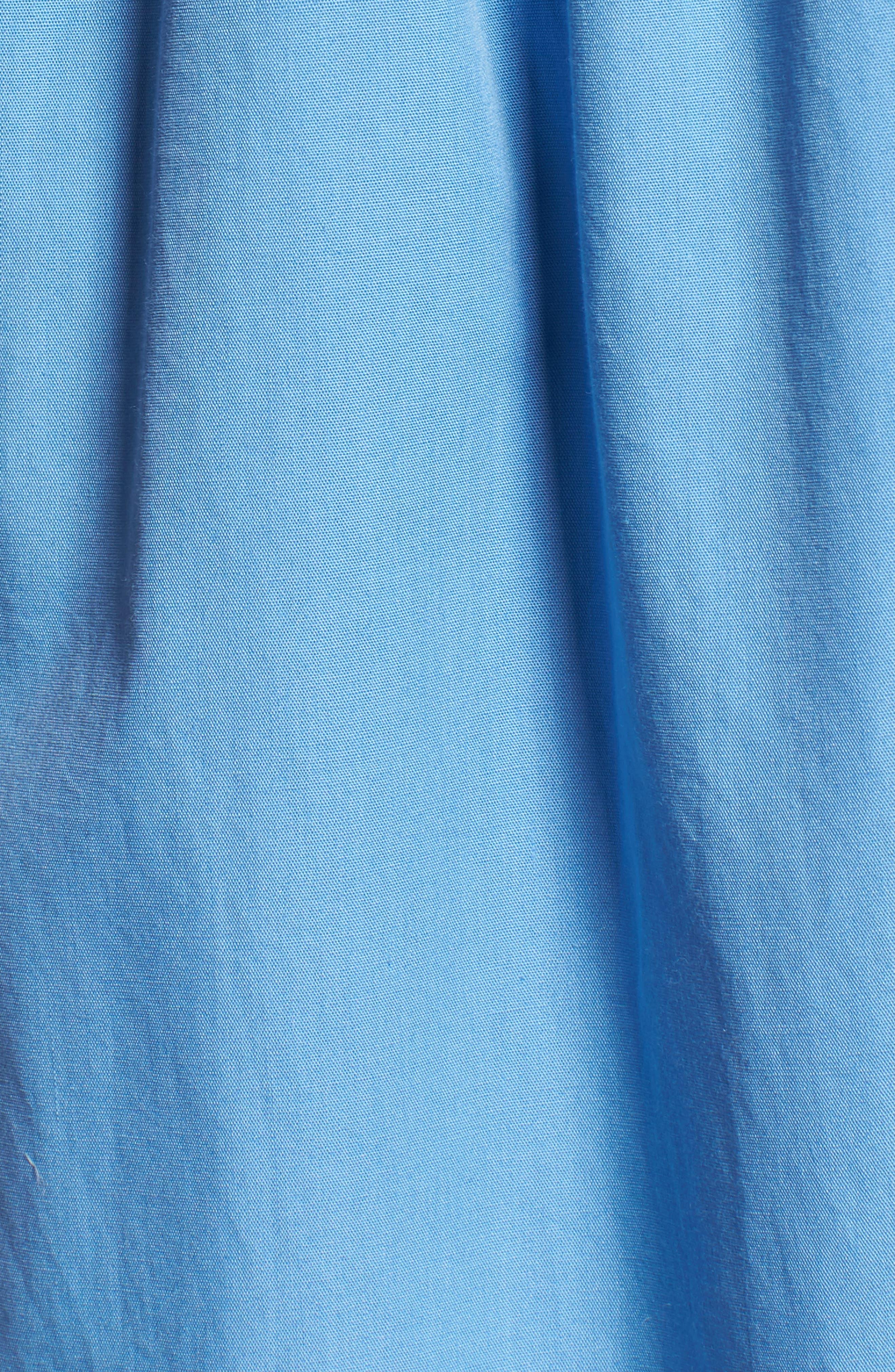 Button Front Midi Dress,                             Alternate thumbnail 10, color,