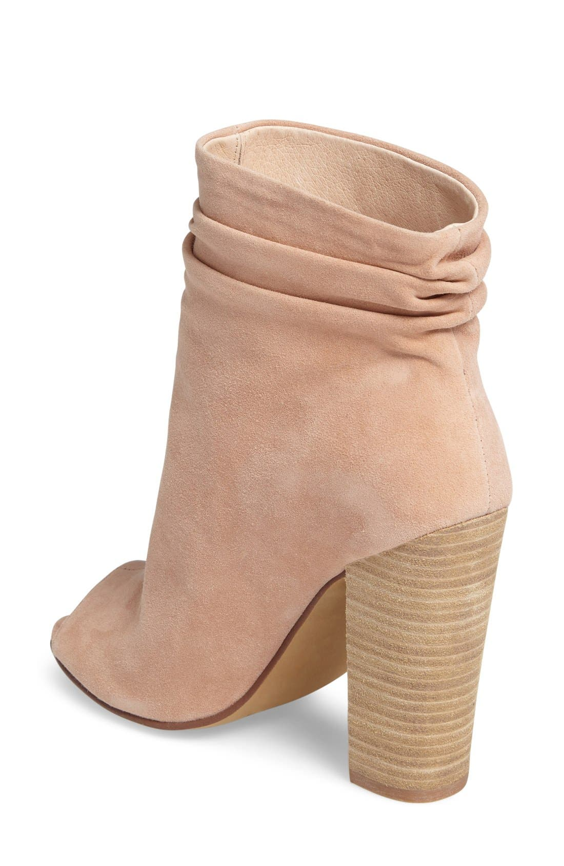 'Laurel' Peep Toe Bootie,                             Alternate thumbnail 28, color,