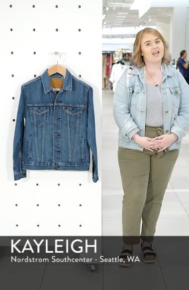 Trucker Denim Jacket, sales video thumbnail