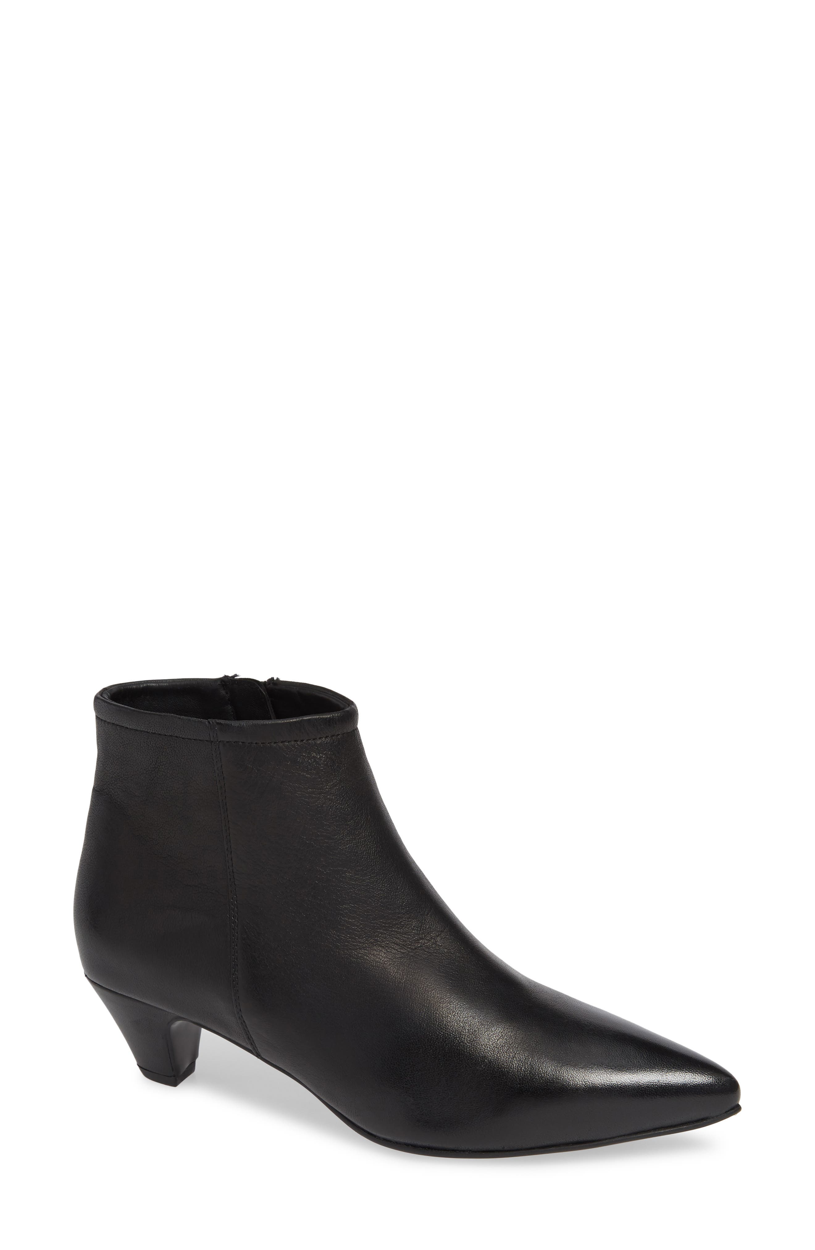 SEYCHELLES Biome Bootie, Main, color, BLACK LEATHER