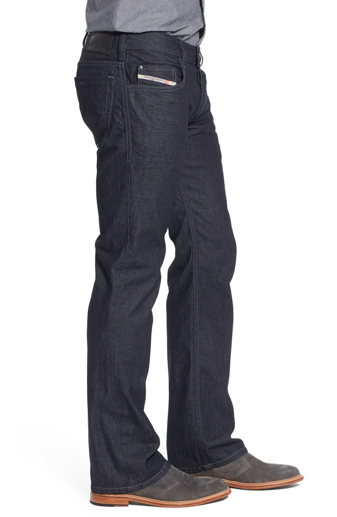 Zatiny Bootcut Jeans,                             Alternate thumbnail 4, color,                             THE BLUE BARON