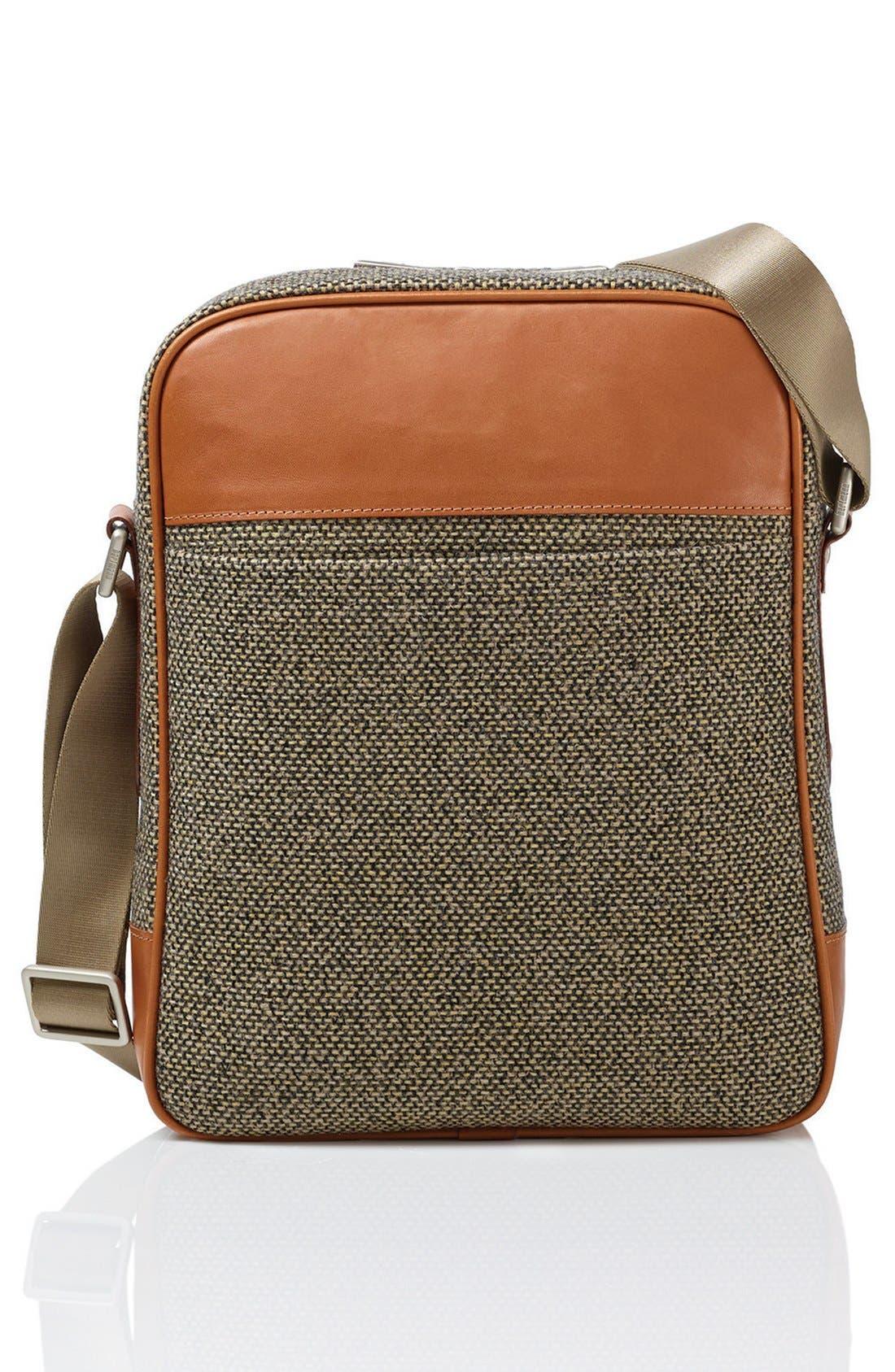 'Tweed Belting' Crossbody Bag,                             Alternate thumbnail 3, color,                             217