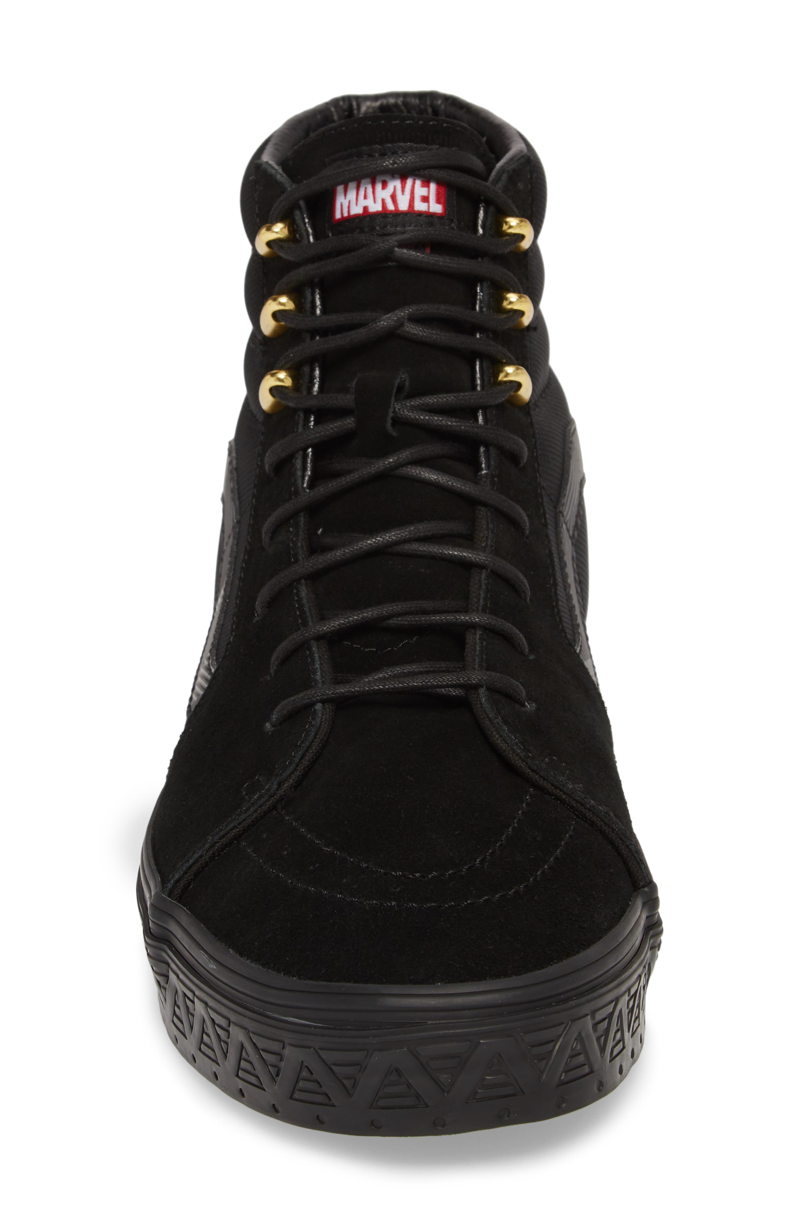 x Marvel<sup>®</sup> UA Sk8-Hi Sneaker,                             Alternate thumbnail 4, color,                             001