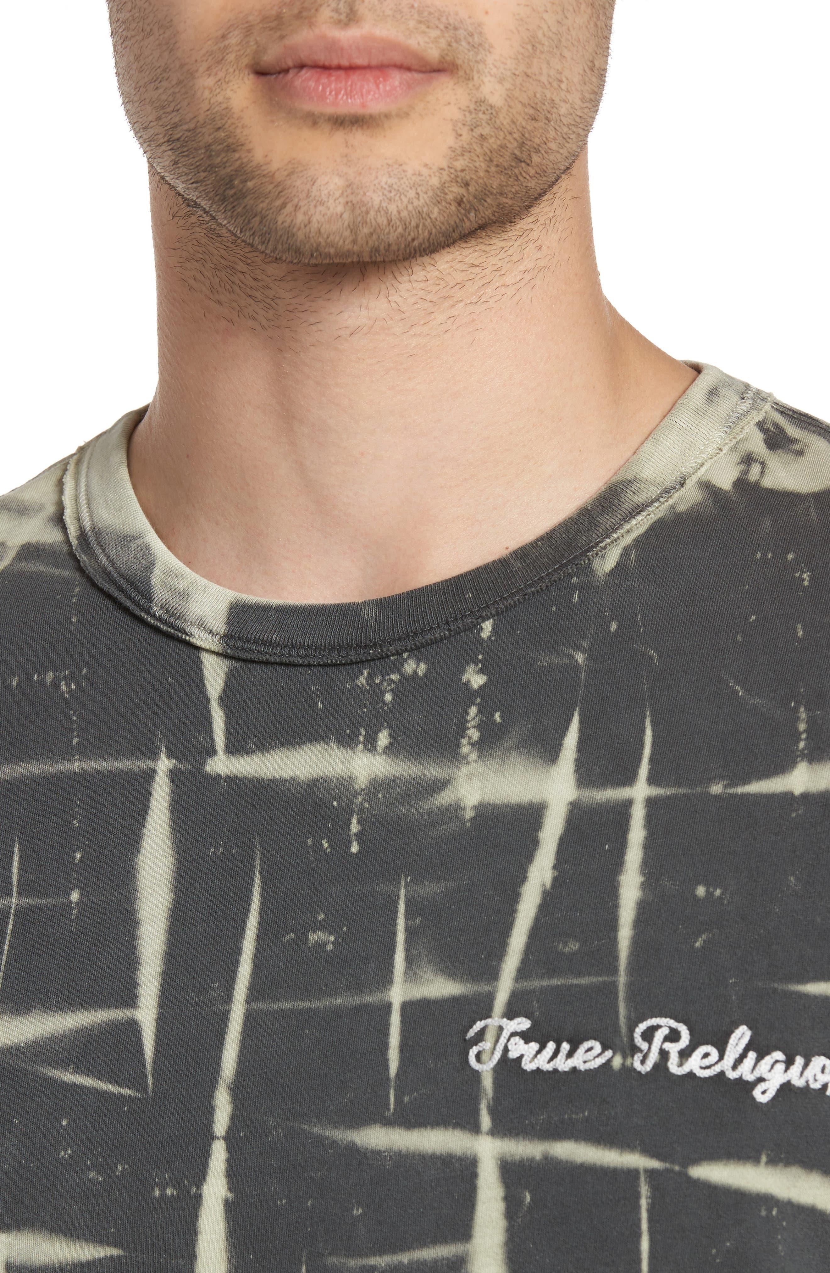 Tie Dye T-Shirt,                             Alternate thumbnail 4, color,                             020