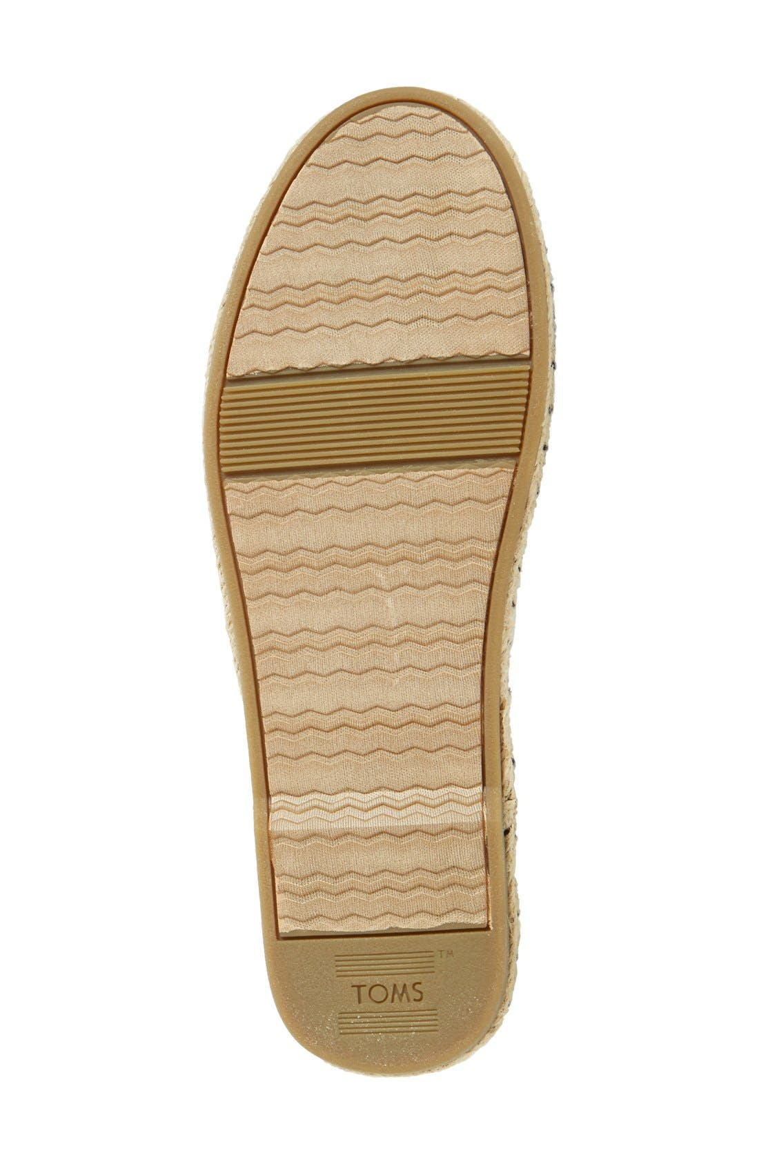 'Bella' Espadrille Sandal,                             Alternate thumbnail 2, color,                             001