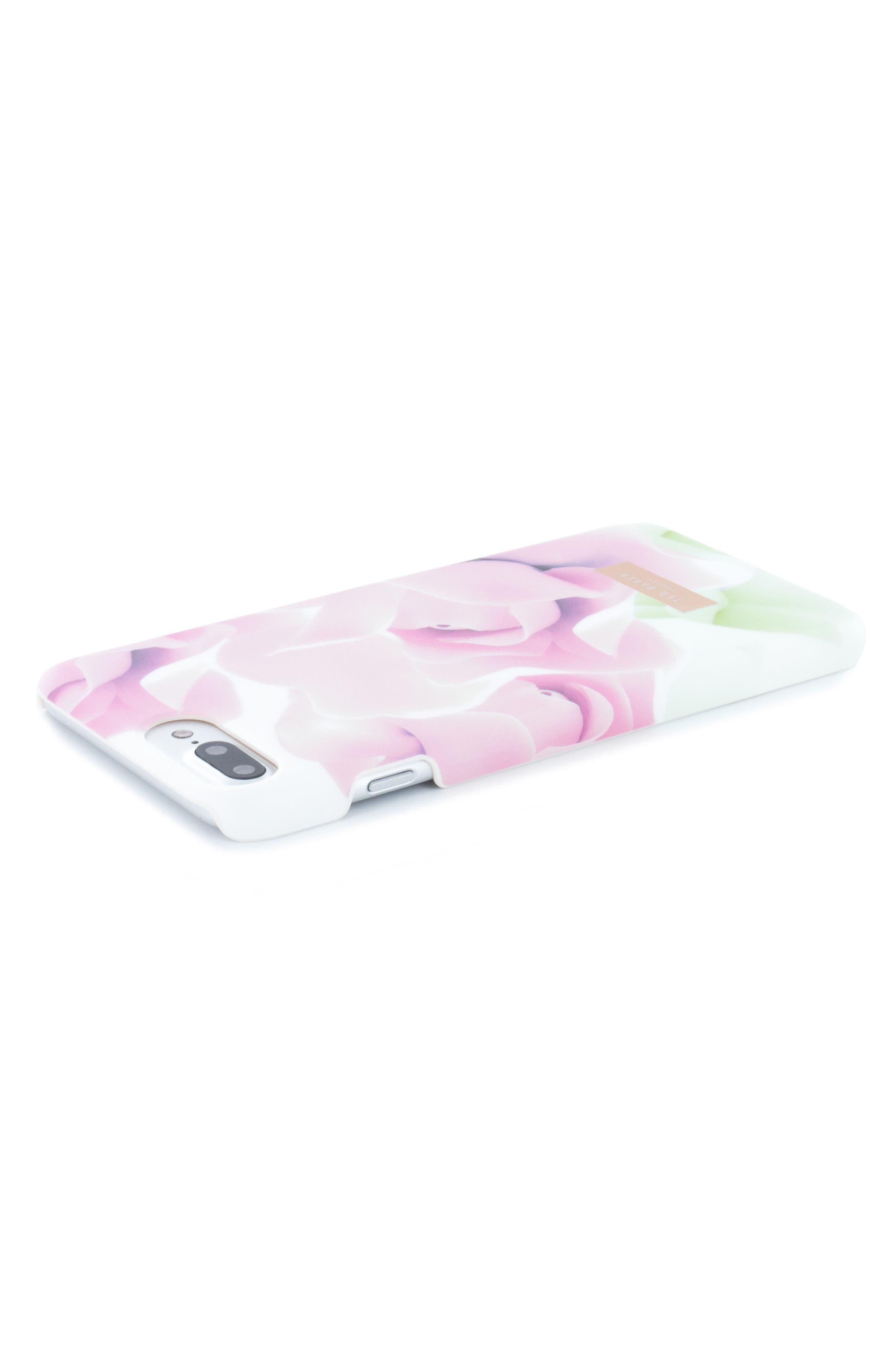 Anotei Rose iPhone 6/6s/7/8 & 6/6s/7/8 Plus Case,                             Alternate thumbnail 5, color,