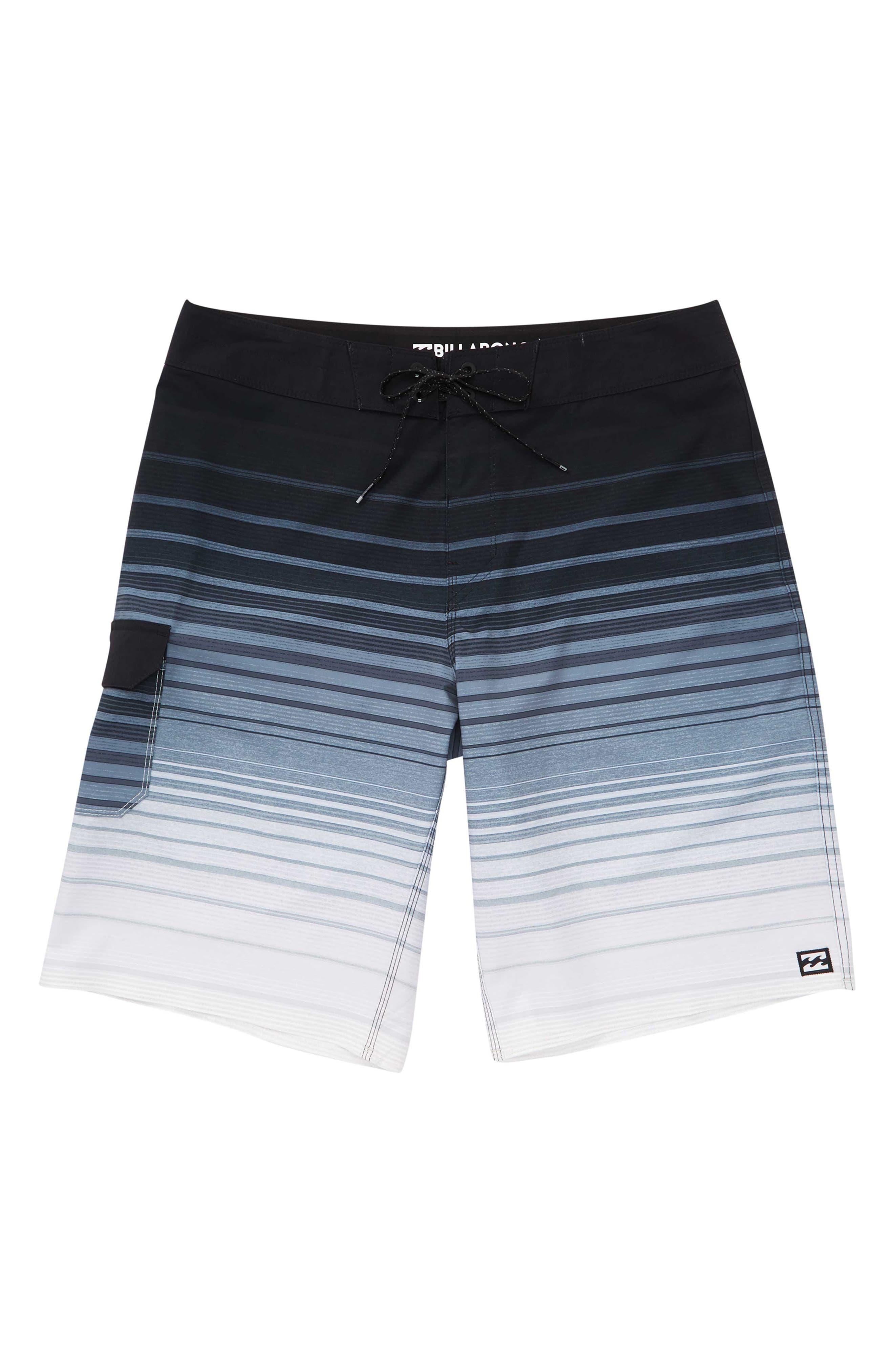 All Day Pro Board Shorts, Main, color, BLACK