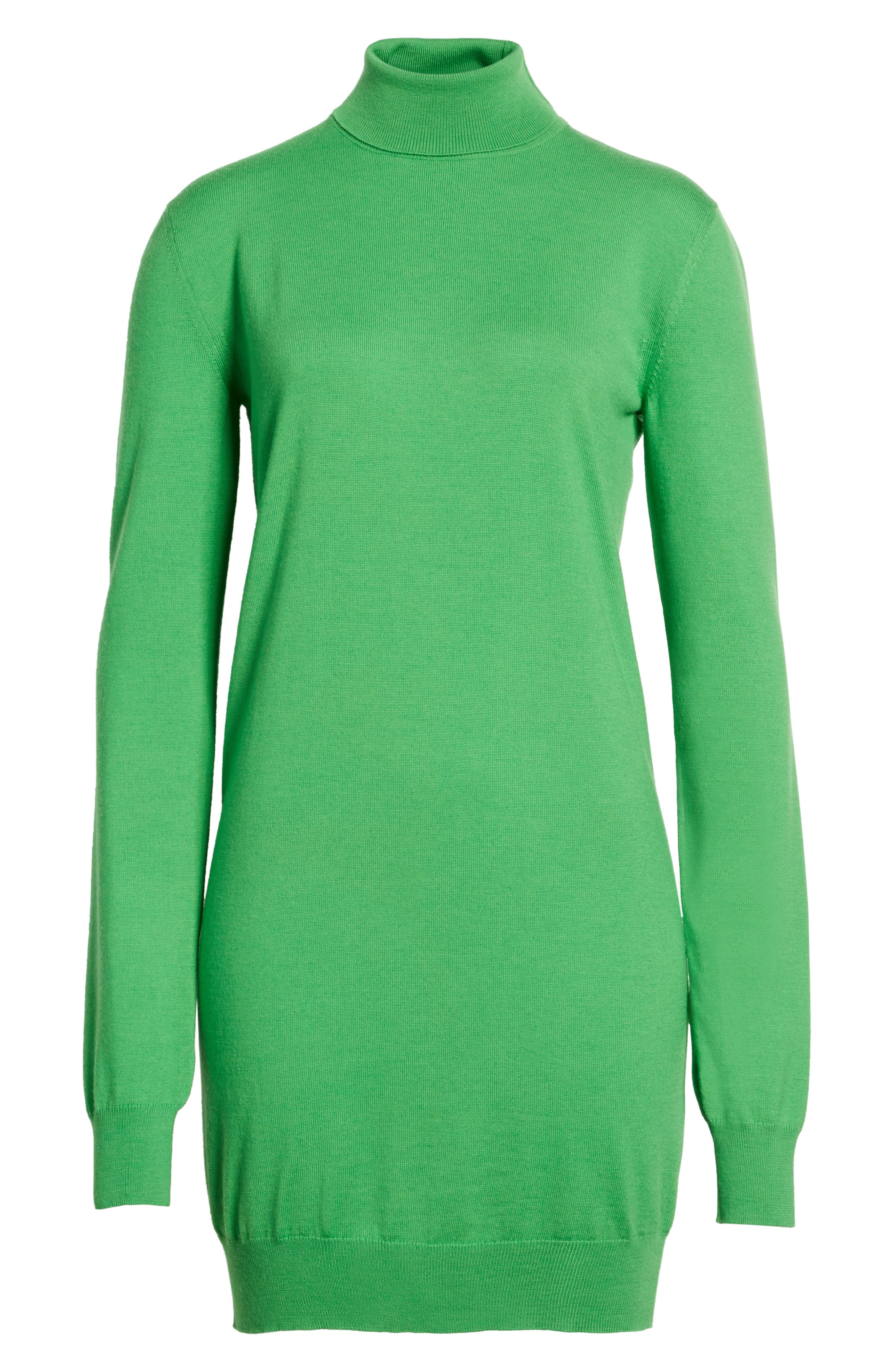 Wool Sweater Dress,                             Alternate thumbnail 6, color,                             300