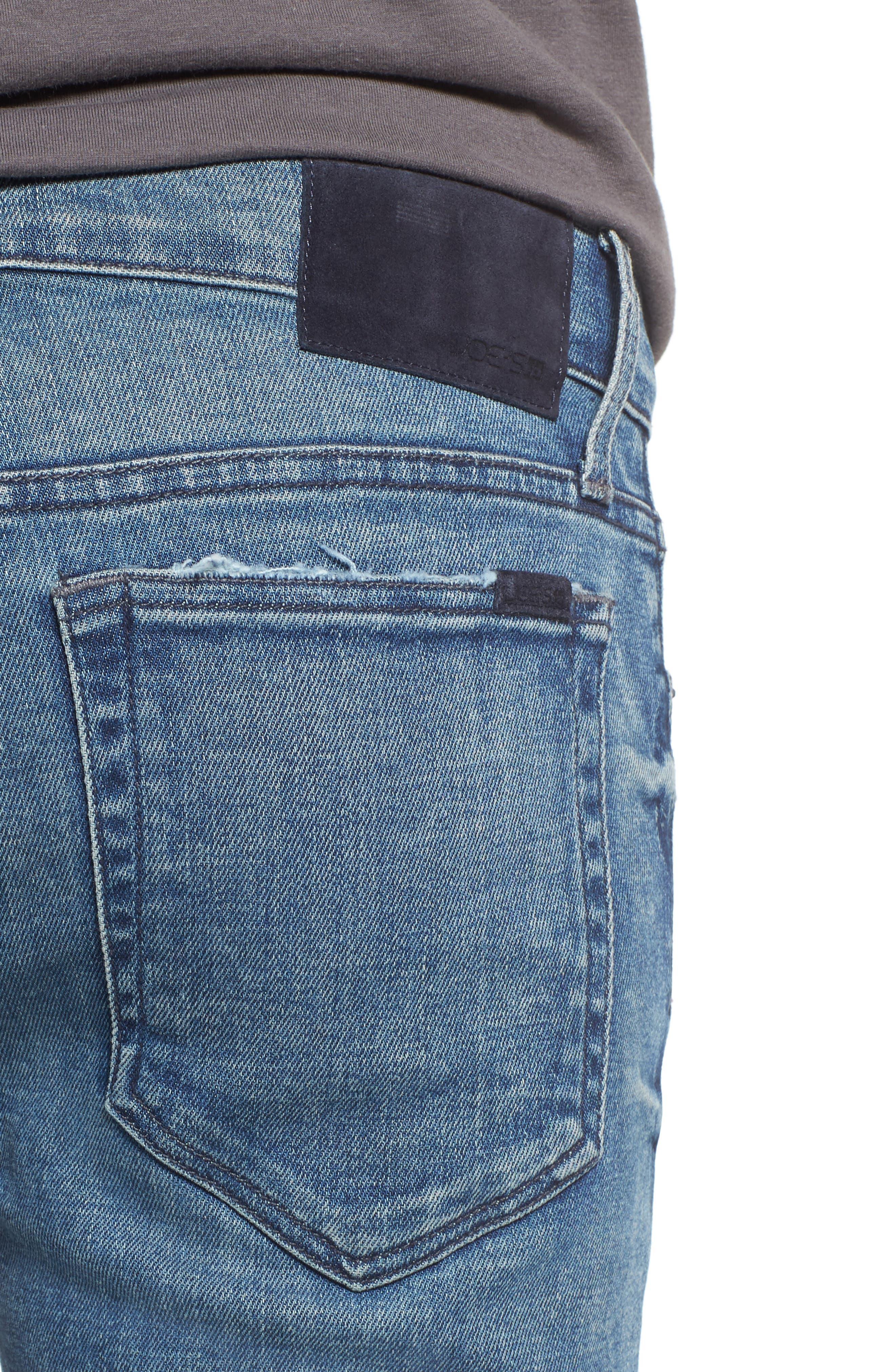 Slim Skinny Fit Jeans,                             Alternate thumbnail 4, color,