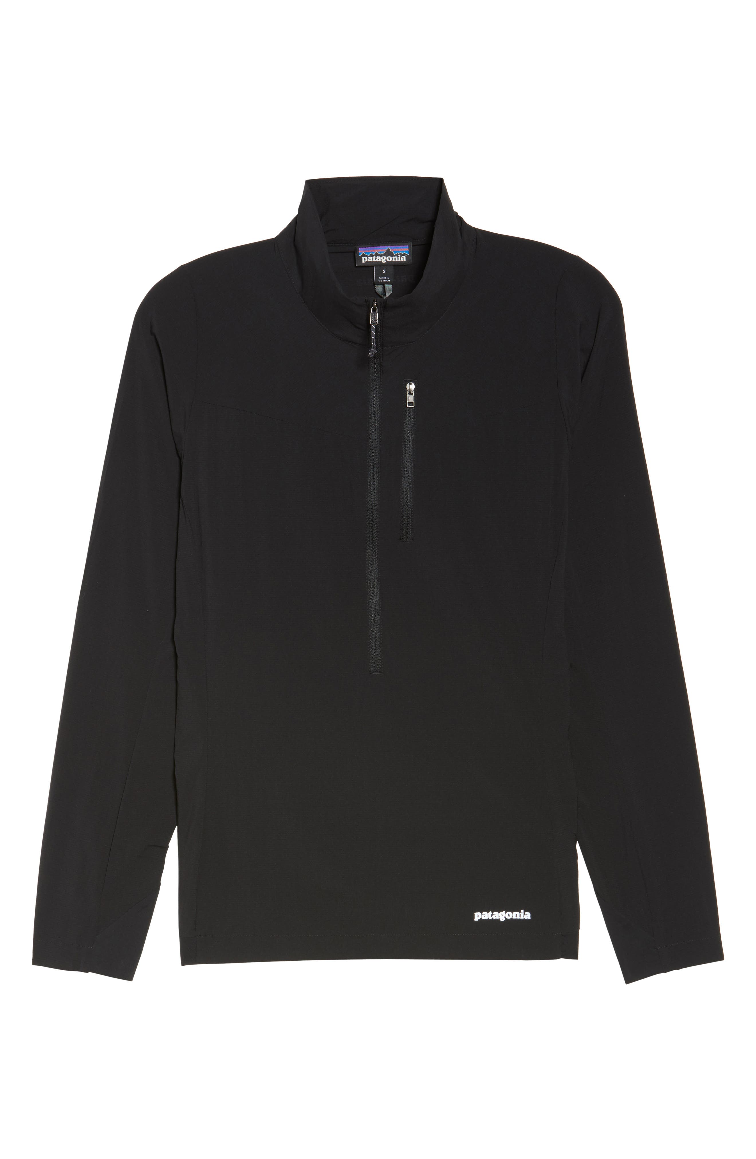 Airshed Pullover,                             Alternate thumbnail 6, color,                             BLACK