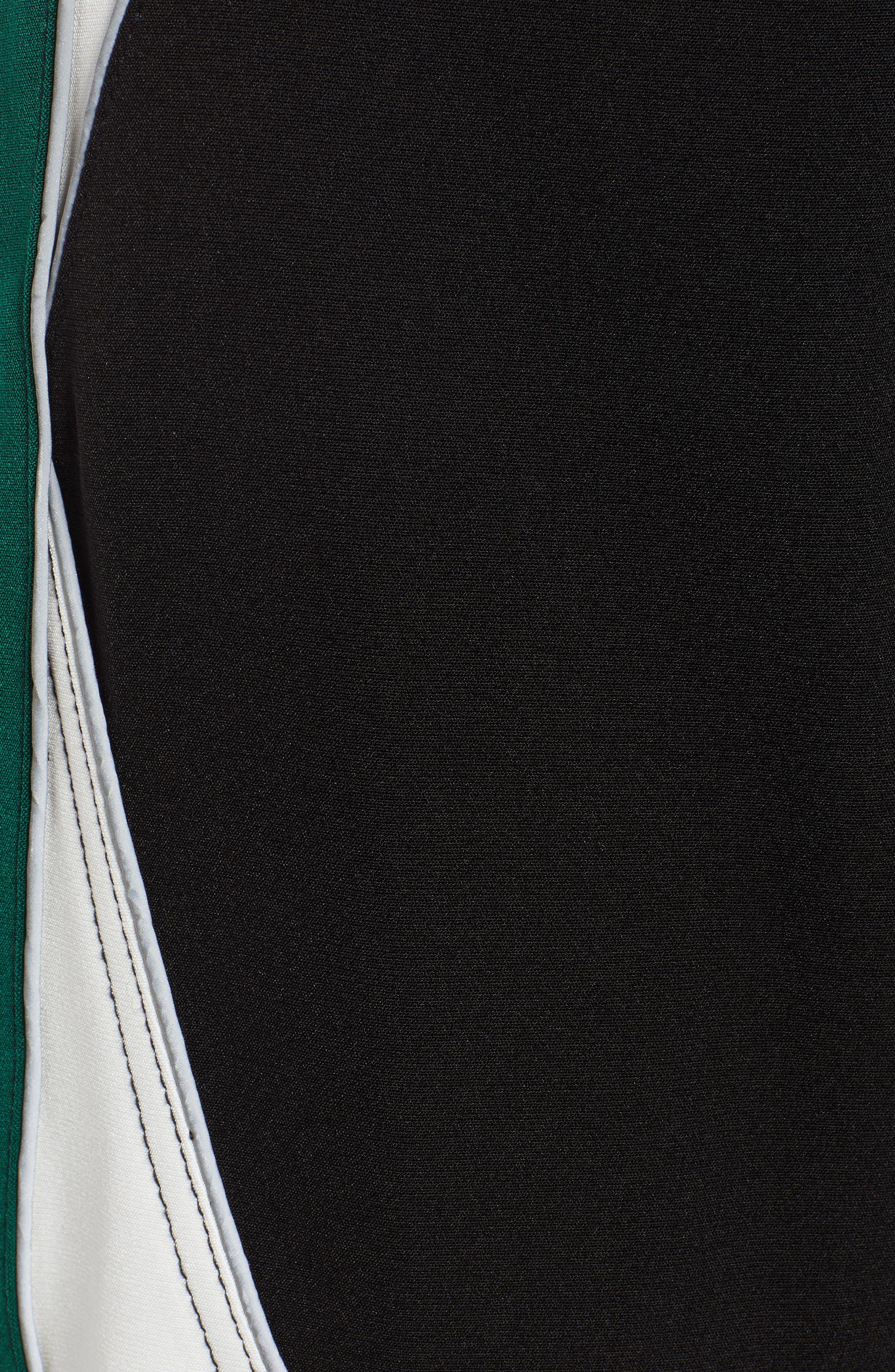 I.AM.GIA Electra Pants,                             Alternate thumbnail 5, color,                             BLACK/ GREEN