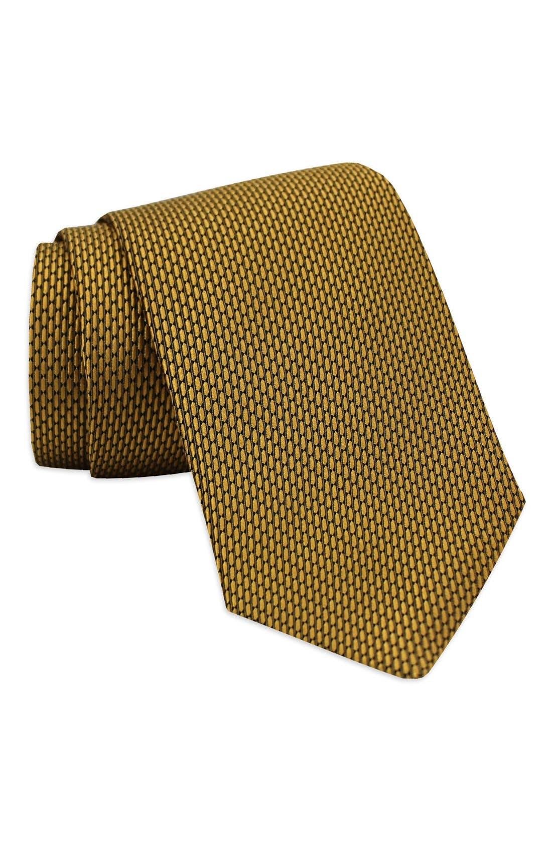 'Neat' Woven Silk Tie,                             Main thumbnail 5, color,