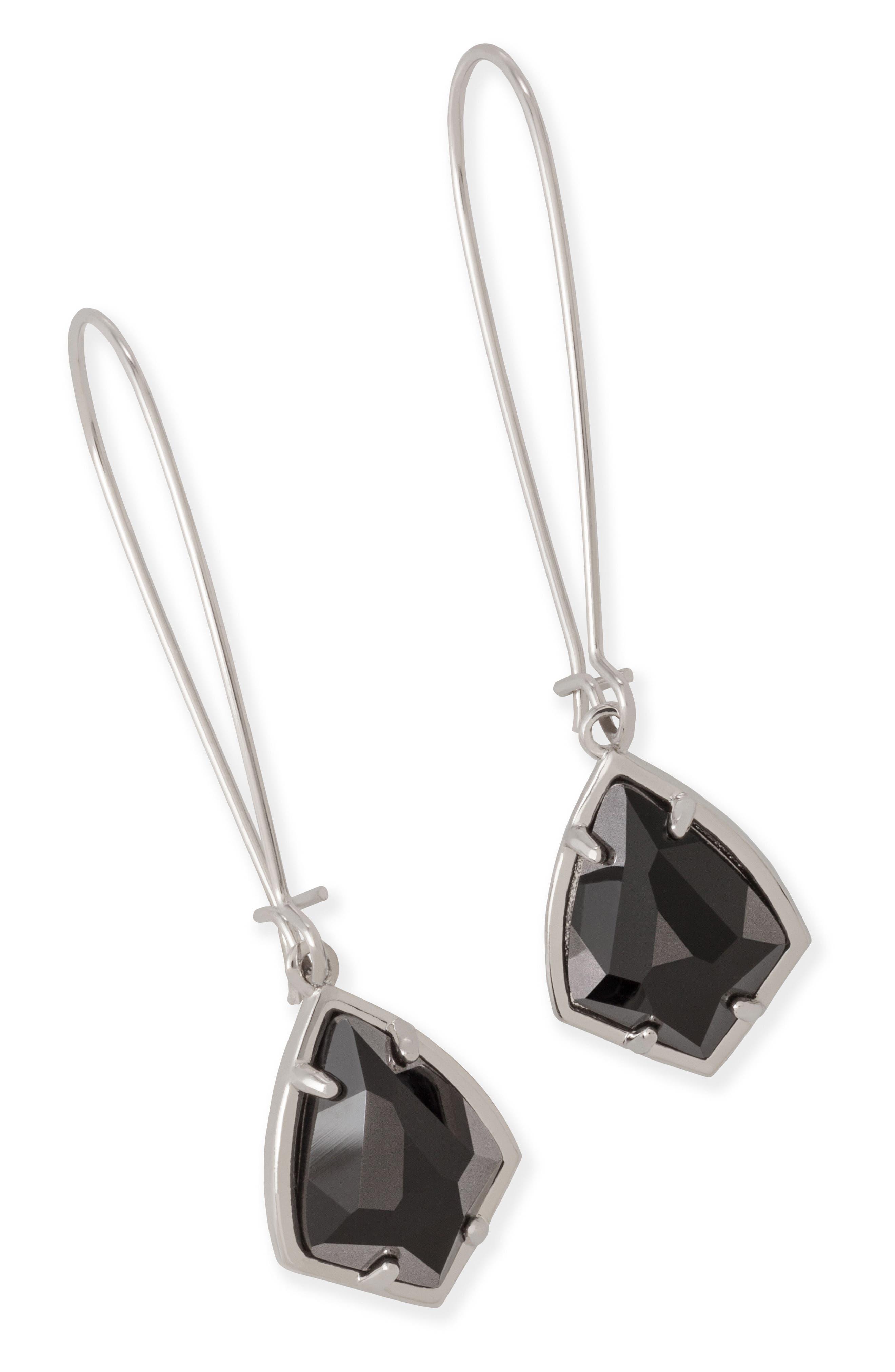 'Carrine' Semiprecious Stone Drop Earrings,                             Alternate thumbnail 15, color,