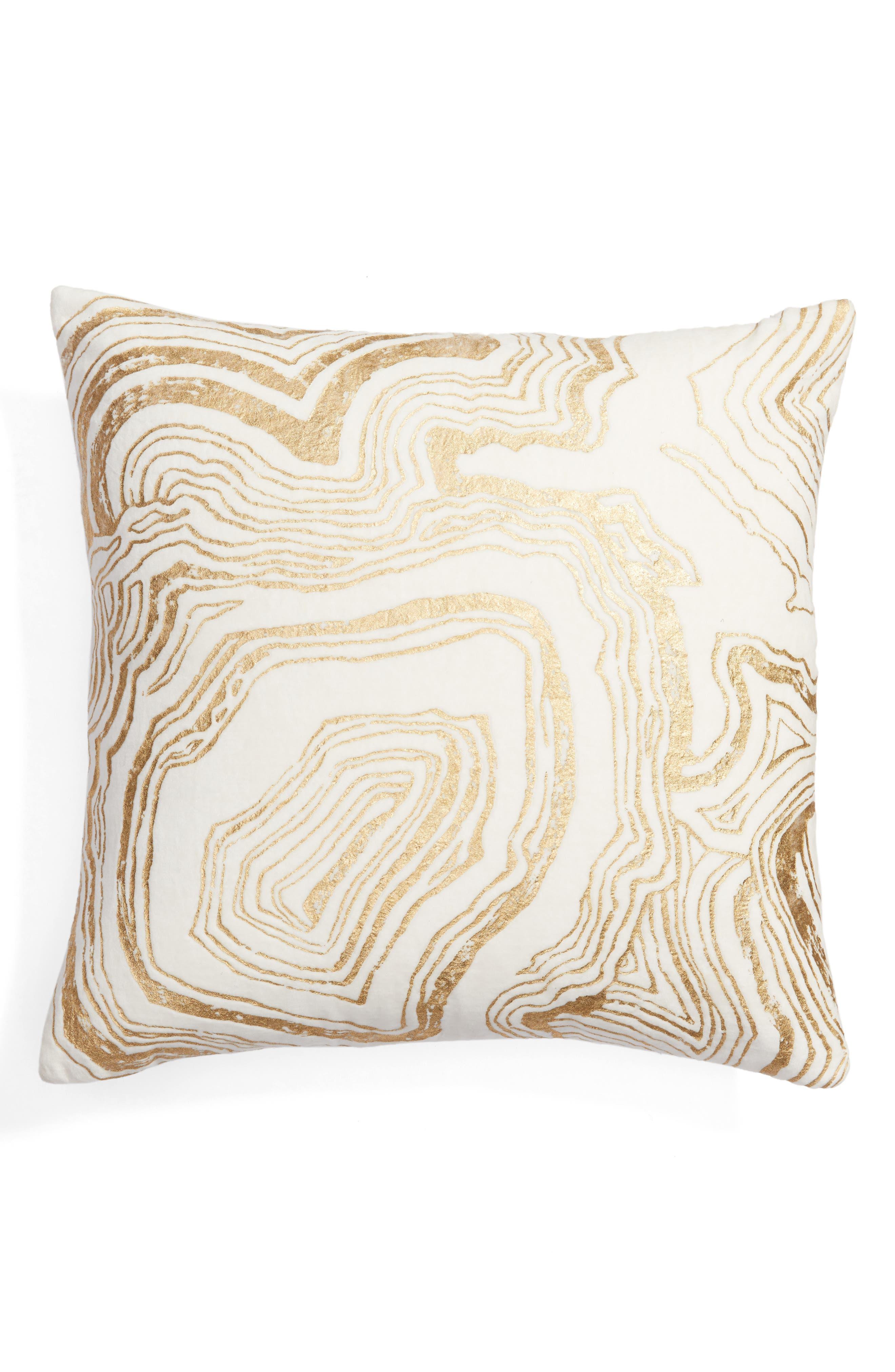 Foil Print Pillow,                             Main thumbnail 3, color,