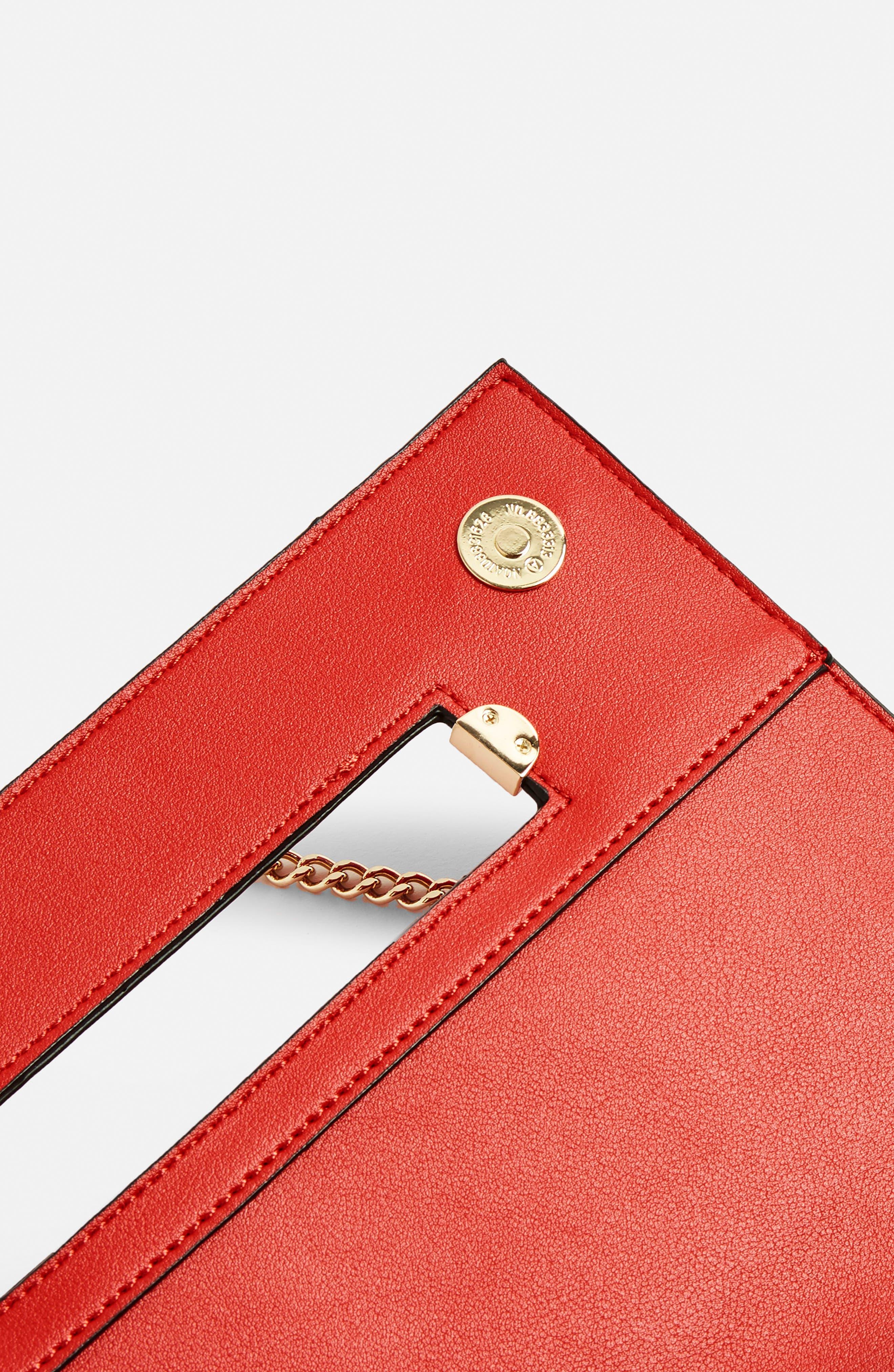 Brogan Tab Chain Clutch Bag,                             Alternate thumbnail 12, color,