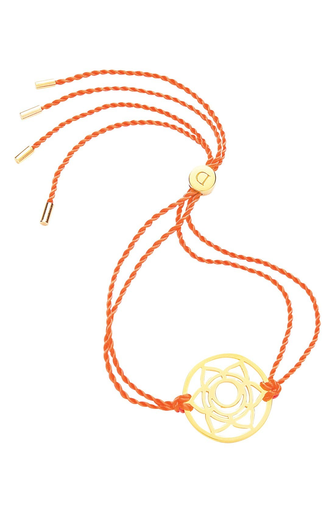 'Sacral Chakra' Cord Bracelet,                             Main thumbnail 1, color,                             800