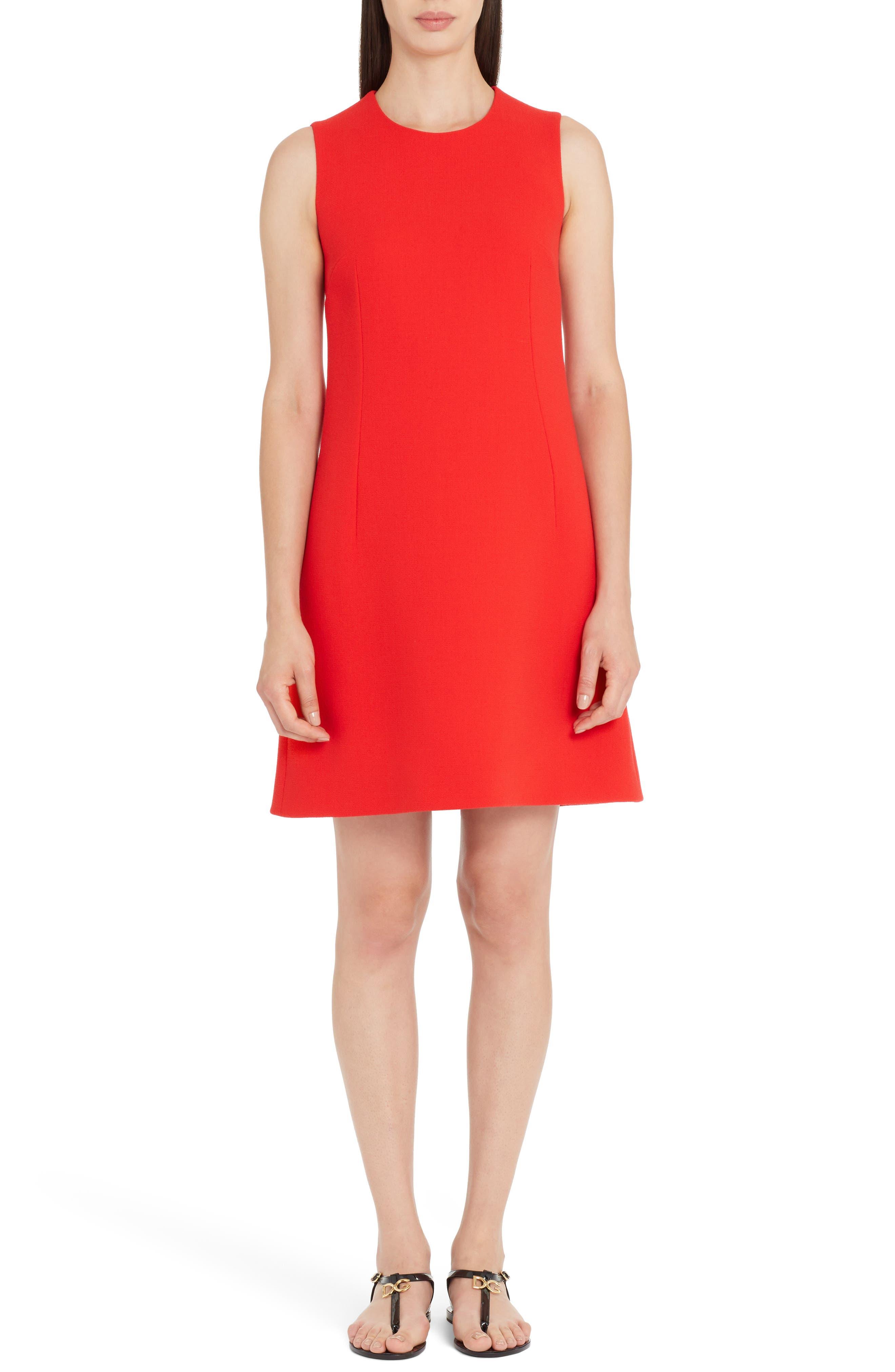 Crepe Shift Dress,                             Alternate thumbnail 5, color,                             620