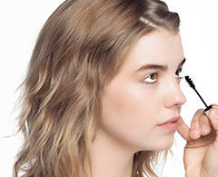 Play video about drawing drama to your lower lashes with Clinique.