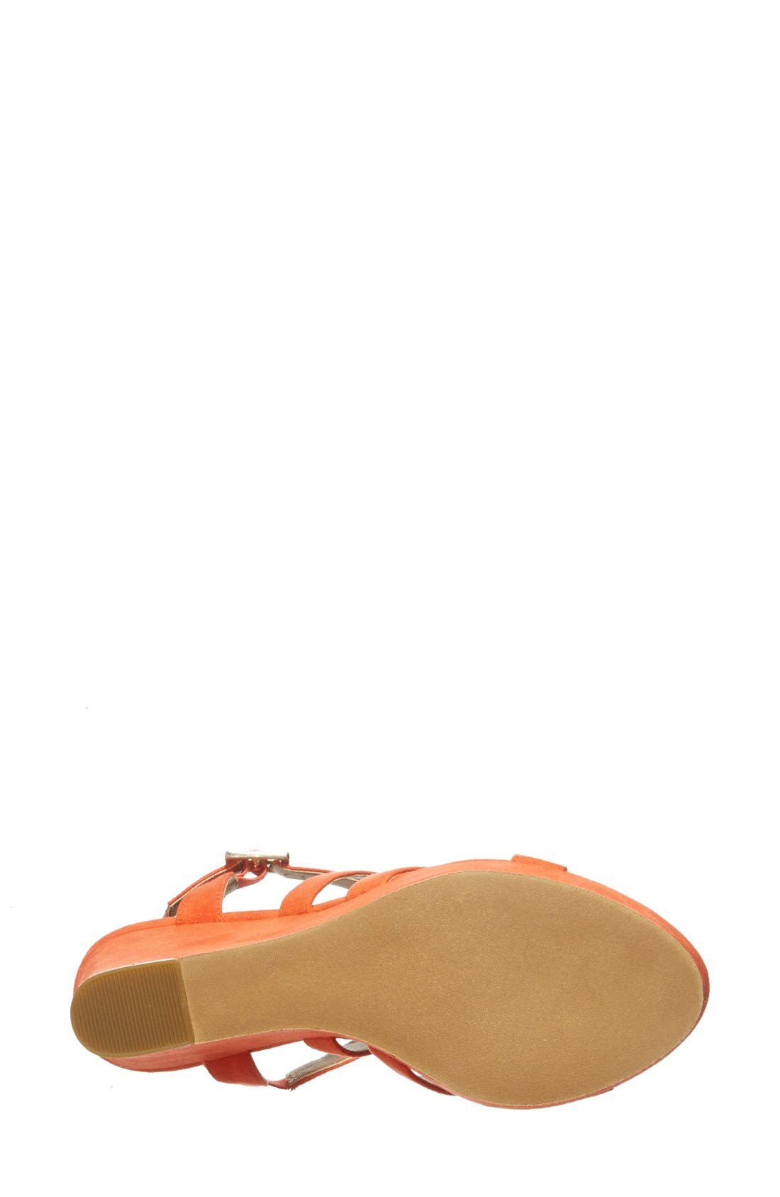 'Summers' Wedge Sandal,                             Alternate thumbnail 19, color,