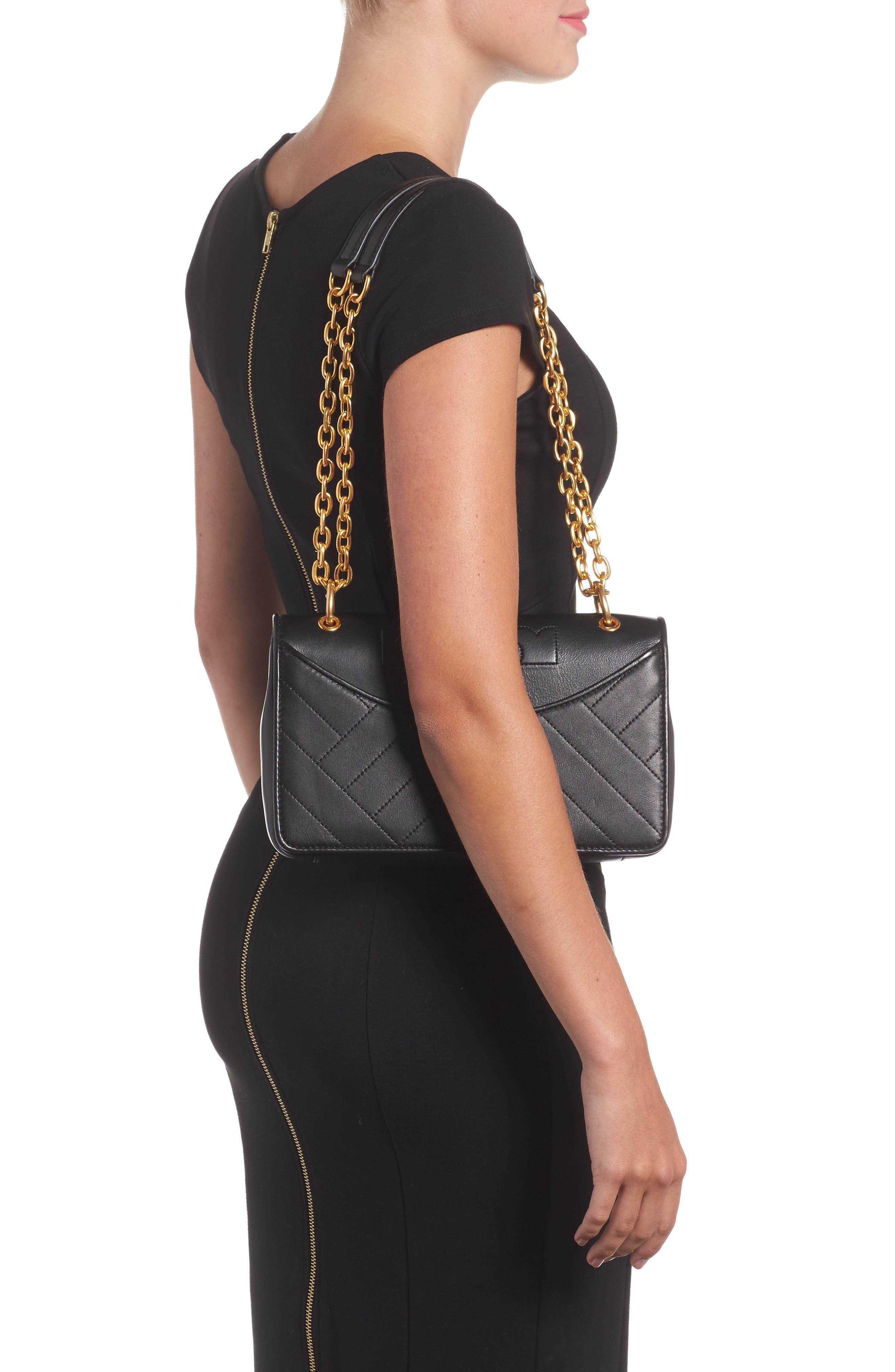 Alexa Leather Shoulder Bag,                             Alternate thumbnail 7, color,
