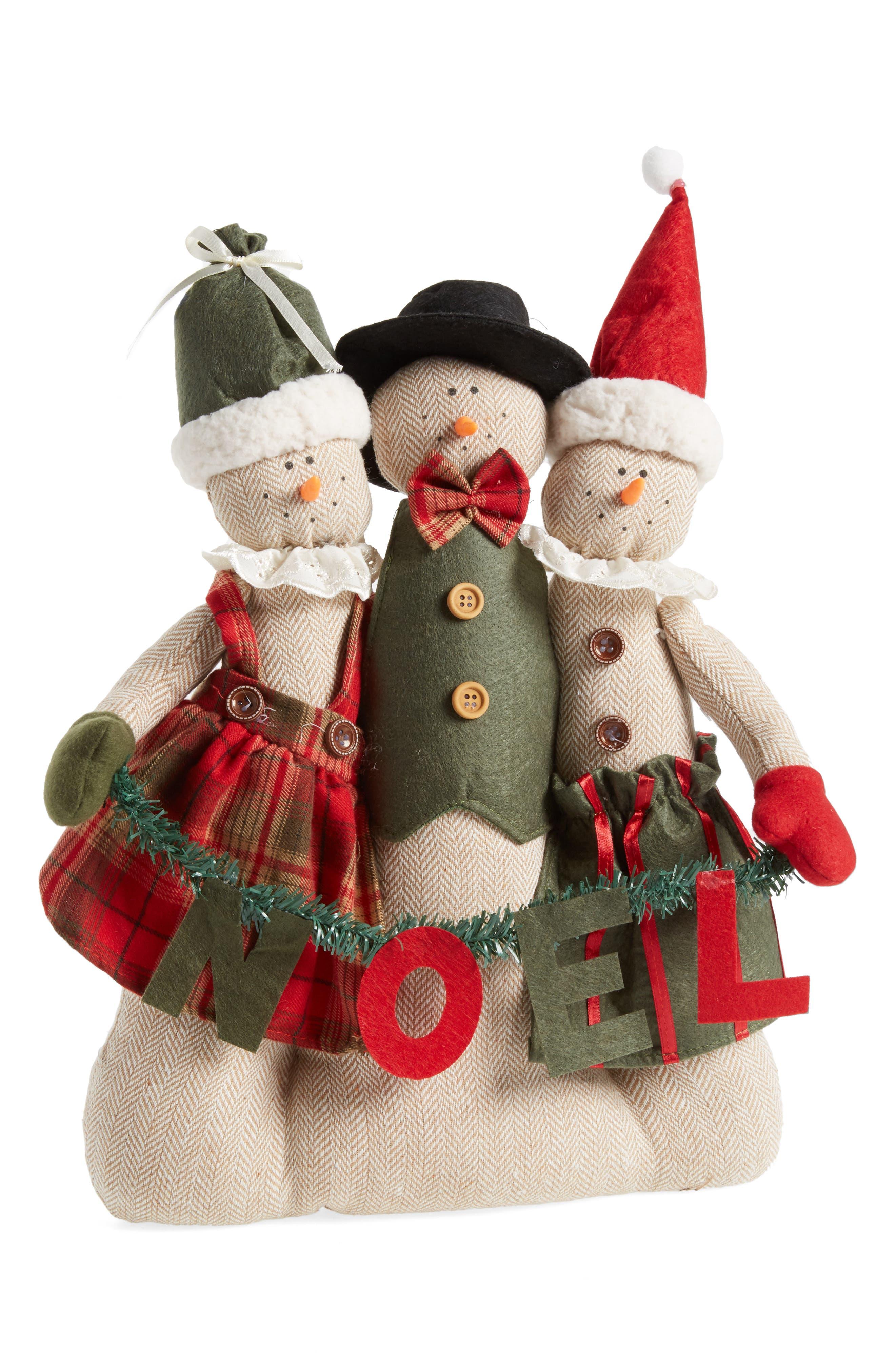 Noel Snowmen Decoration,                         Main,                         color, 900