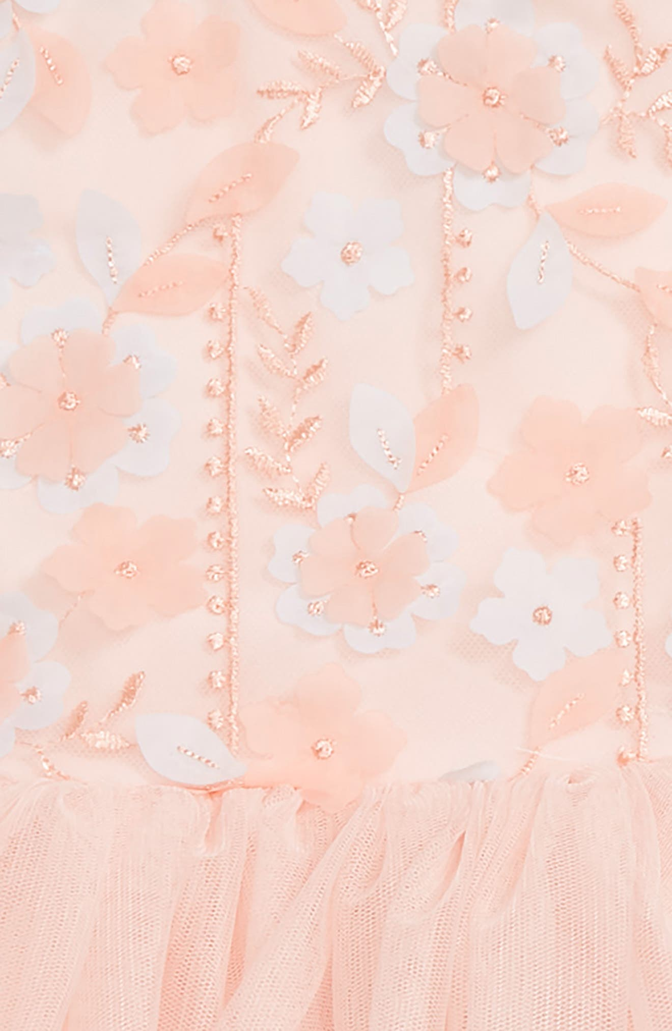 3D Flower Tutu Dress,                             Alternate thumbnail 2, color,                             950