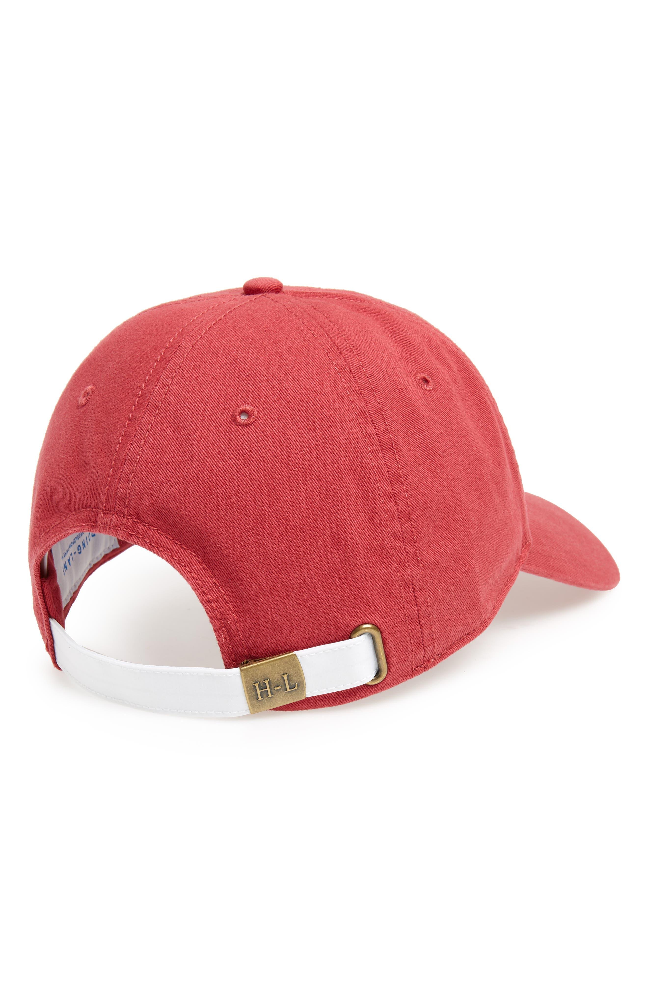 New Grand Wagoneer Baseball Cap,                             Alternate thumbnail 2, color,                             WEATHERED RED