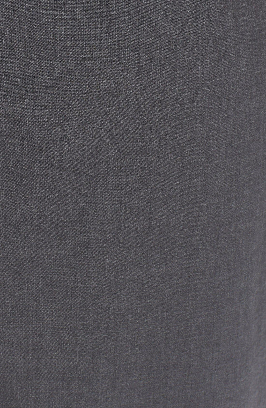 'Betty.2B' Stretch Wool Sheath Dress,                             Alternate thumbnail 4, color,                             020