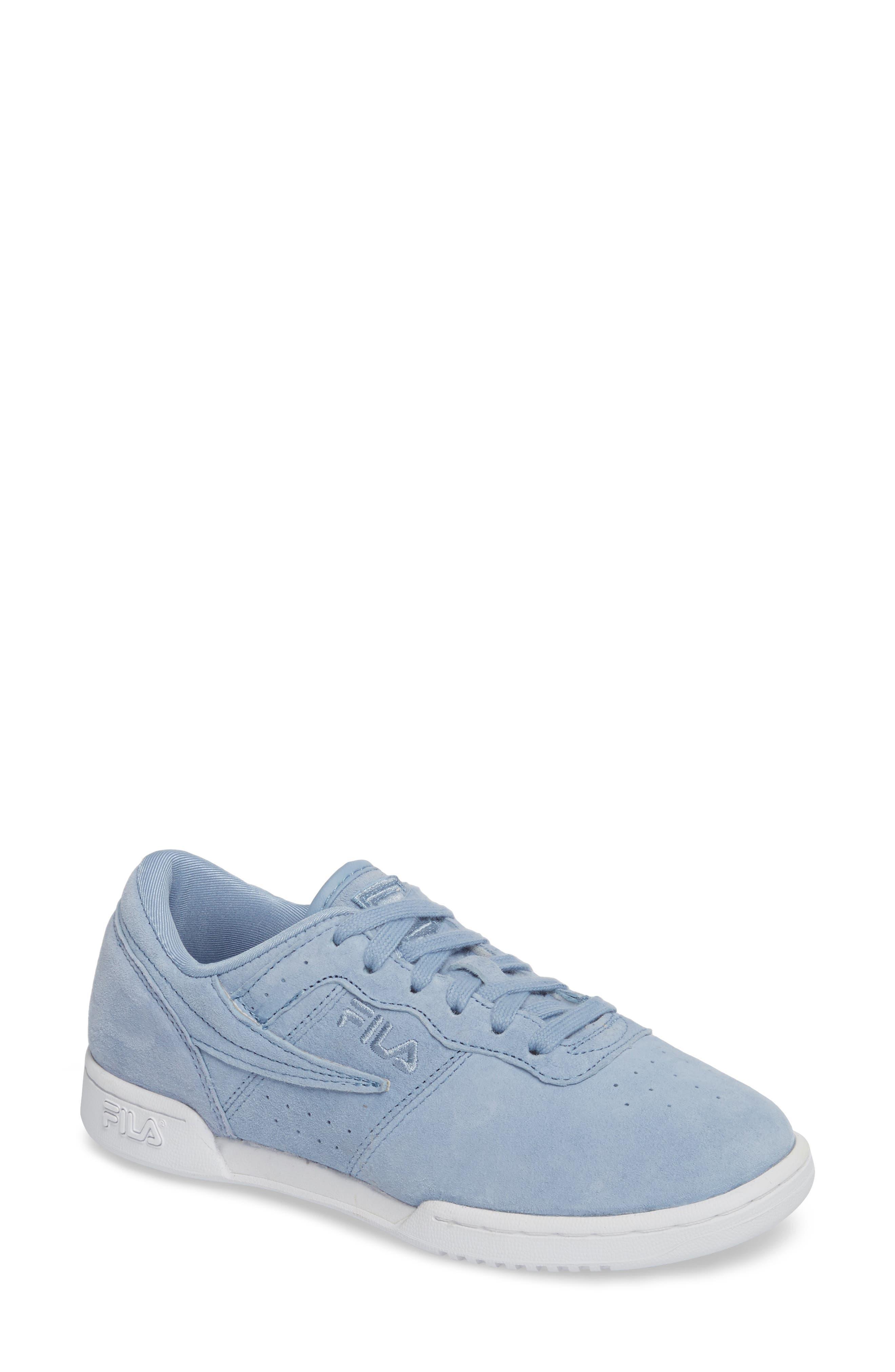 Original Fitness Premium Sneaker,                         Main,                         color, BLUE/ WHITE