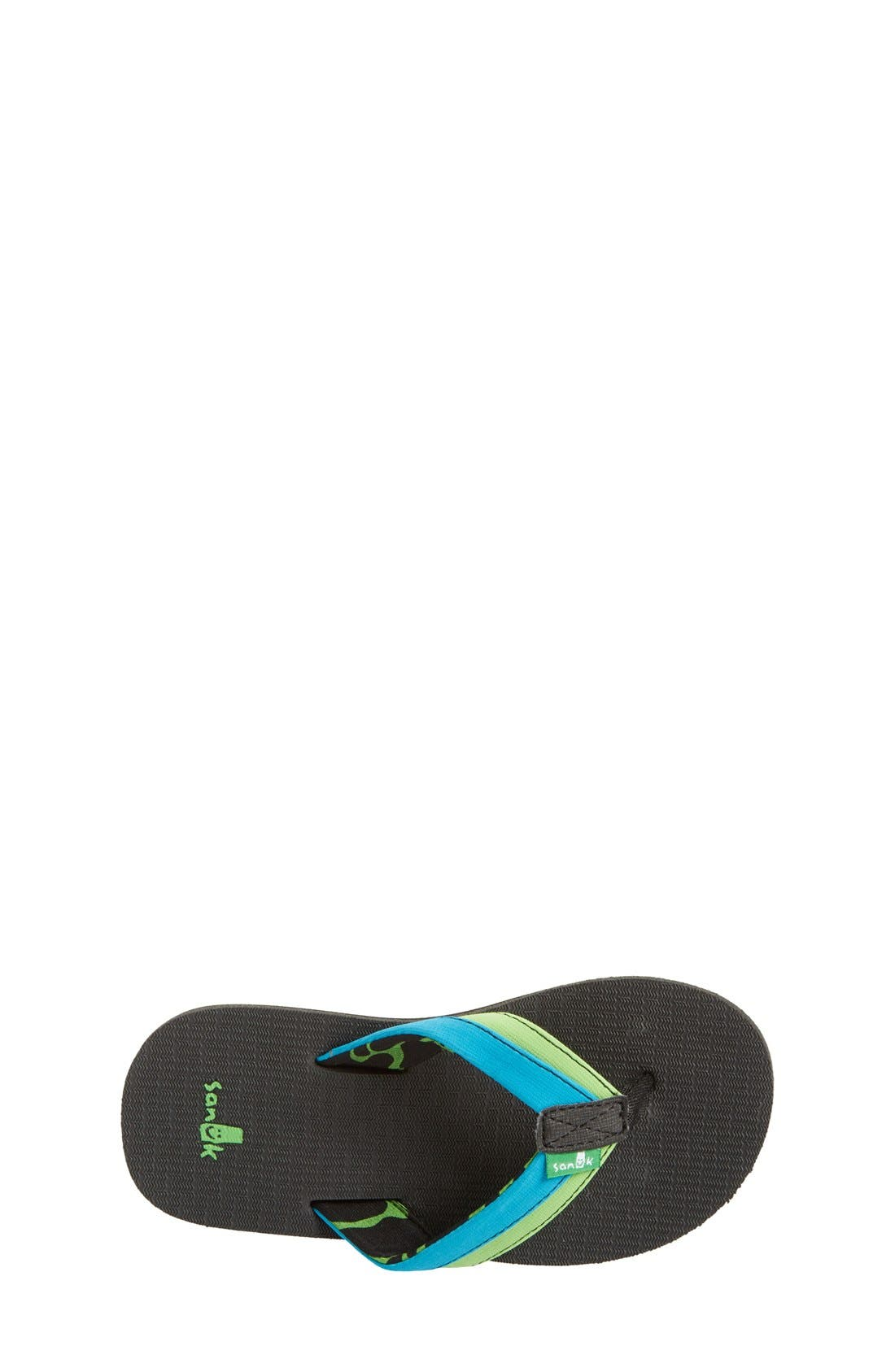 'Rootbeer Cozy' Lightweight Flip Flop Sandal,                             Alternate thumbnail 15, color,