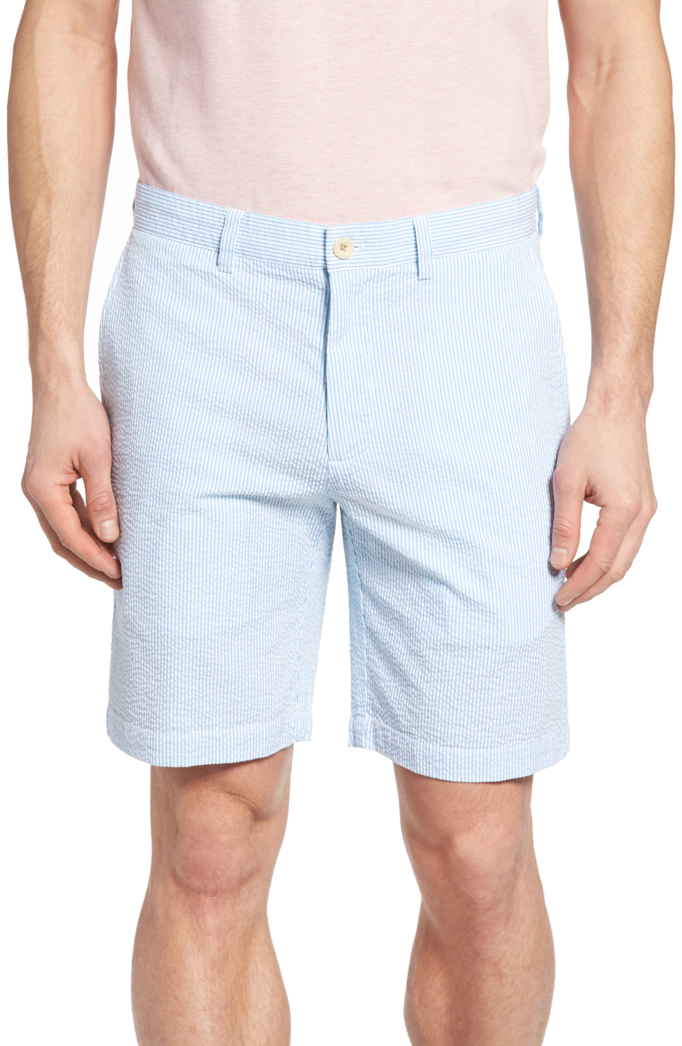 9 Inch Seersucker Shorts,                             Main thumbnail 1, color,