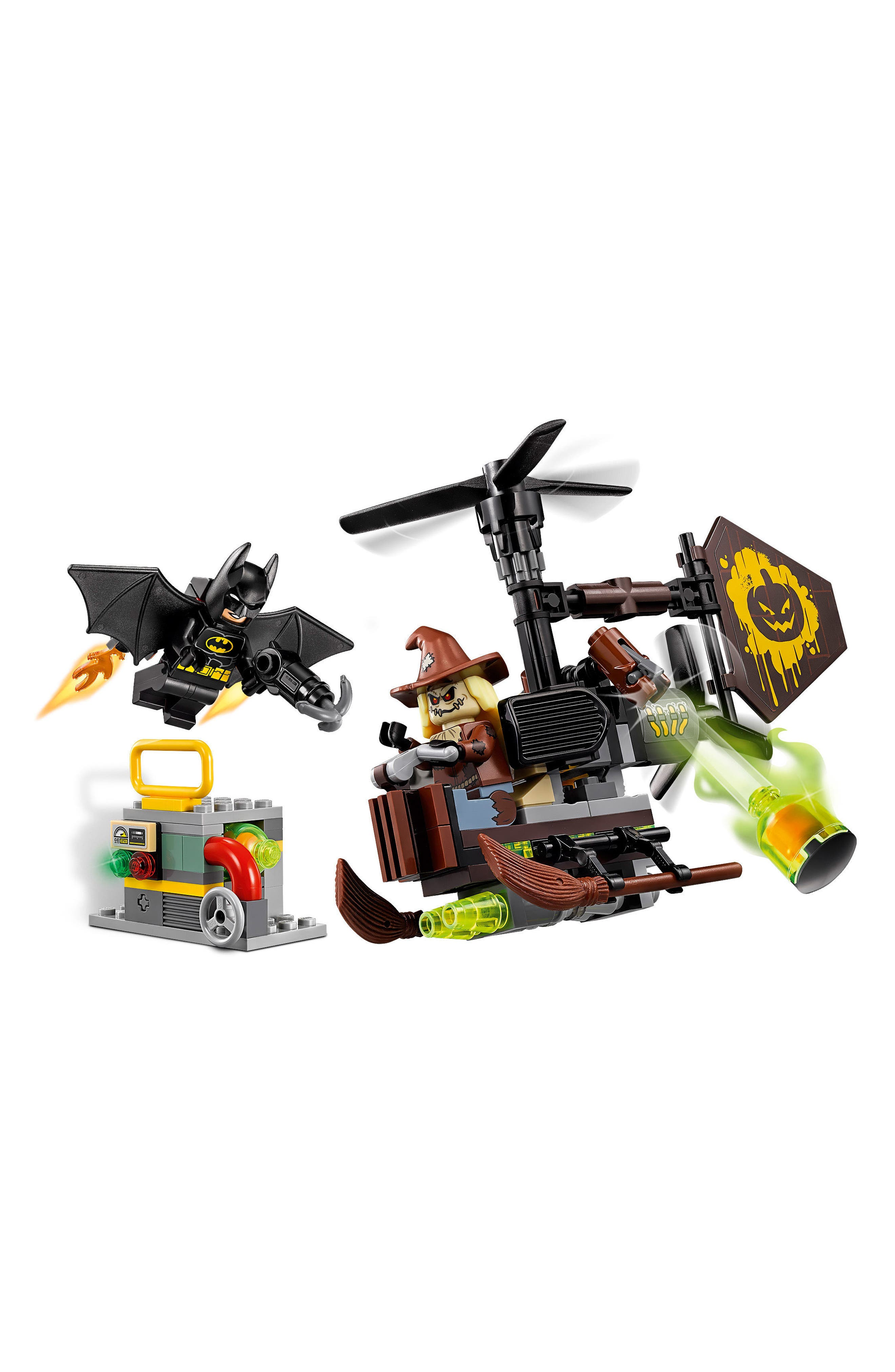 THE LEGO<sup>®</sup> BATMAN MOVIE: Scarecrow<sup>™</sup> Fearful Face-Off Set - 70913,                             Alternate thumbnail 4, color,                             001
