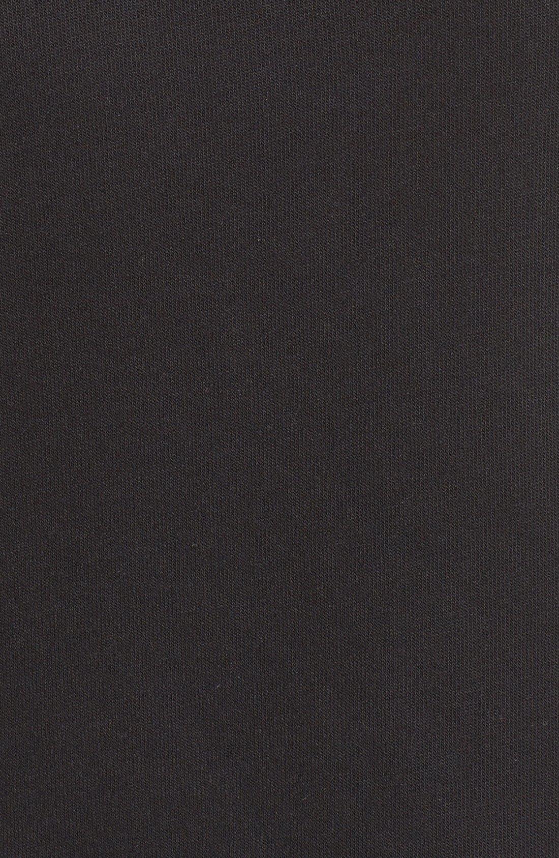 'Haze' Funnel Neck Sweatshirt,                             Alternate thumbnail 3, color,                             BLACK