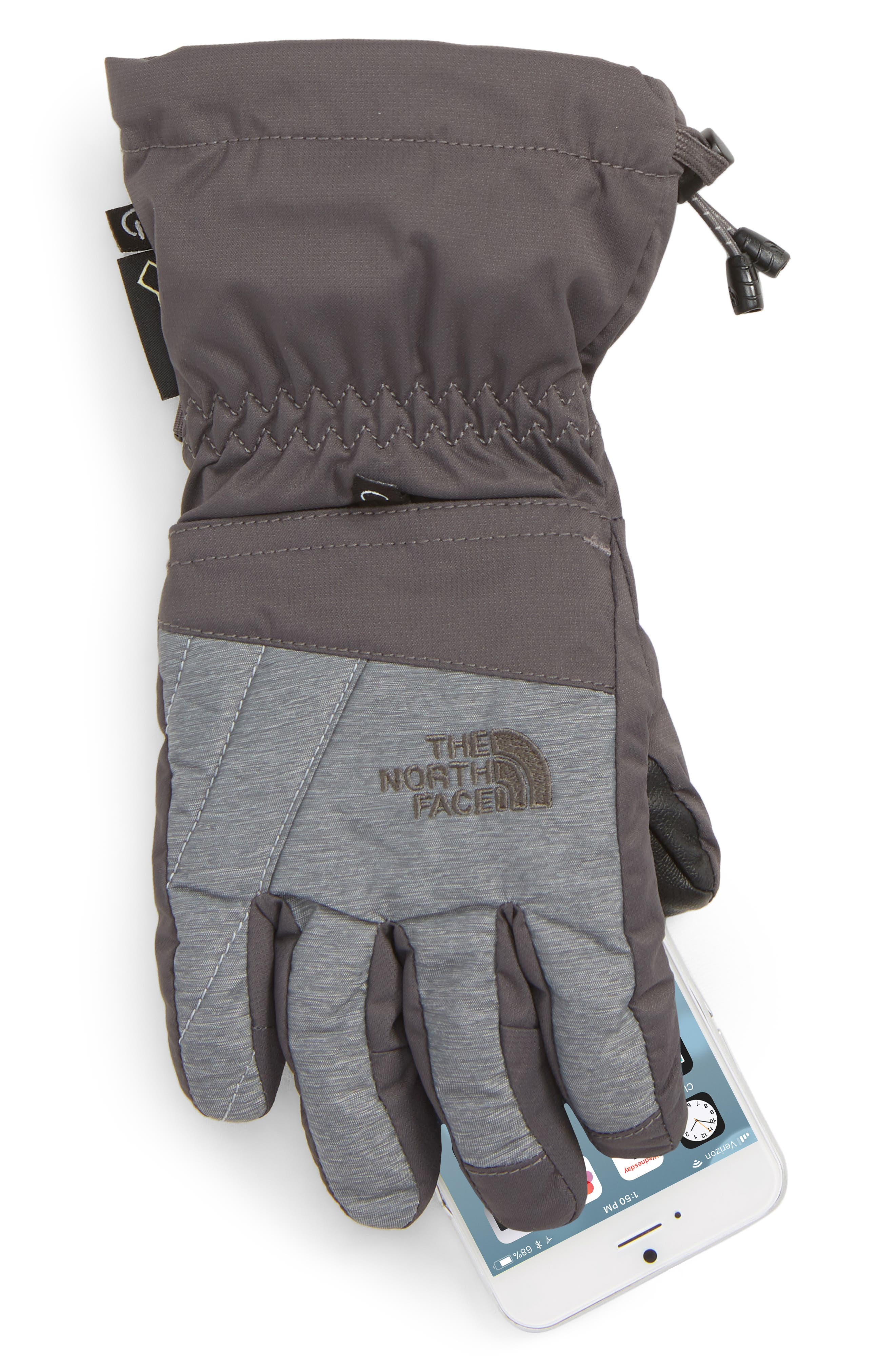 Montana Gore-Tex<sup>®</sup> Waterproof Gloves,                             Alternate thumbnail 2, color,                             GRAPHITE MED GREY HEATHER