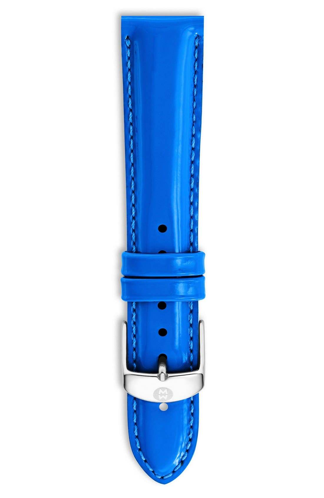 18mm Patent Leather Watch Strap,                             Main thumbnail 17, color,