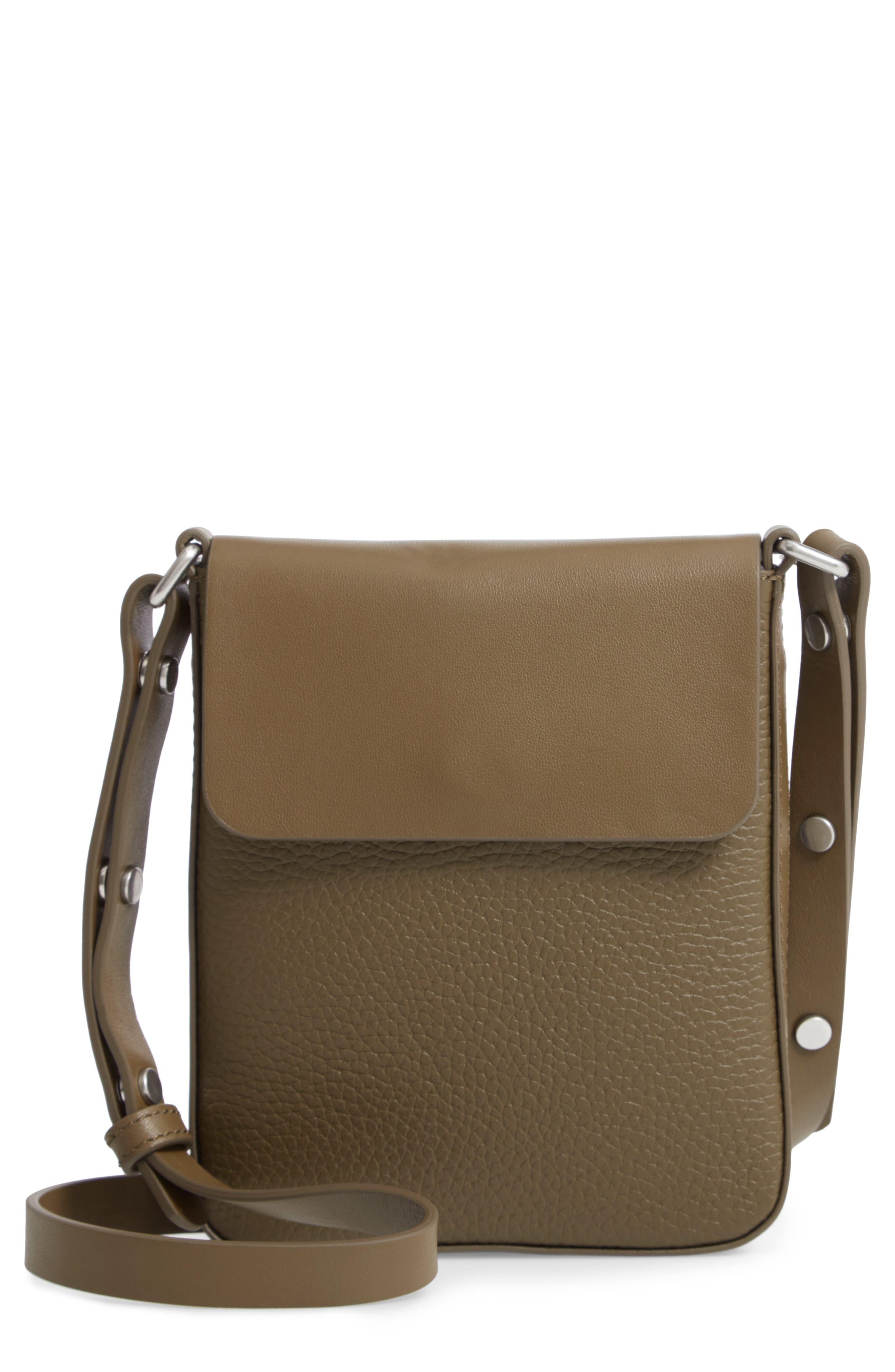 Treasure&Bond Madison Crossbody Bag,                         Main,                         color, OLIVE GROVE