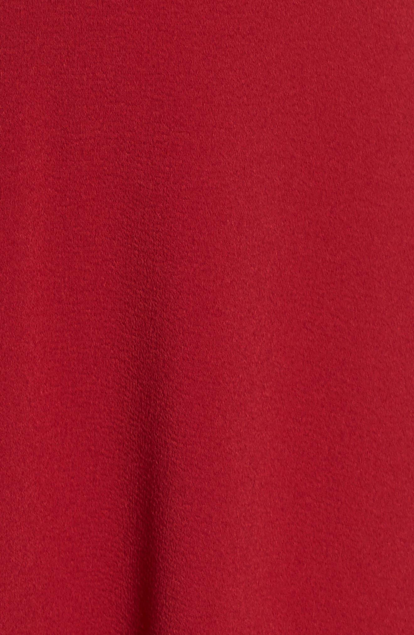 Fit & Flare Dress,                             Alternate thumbnail 5, color,                             930