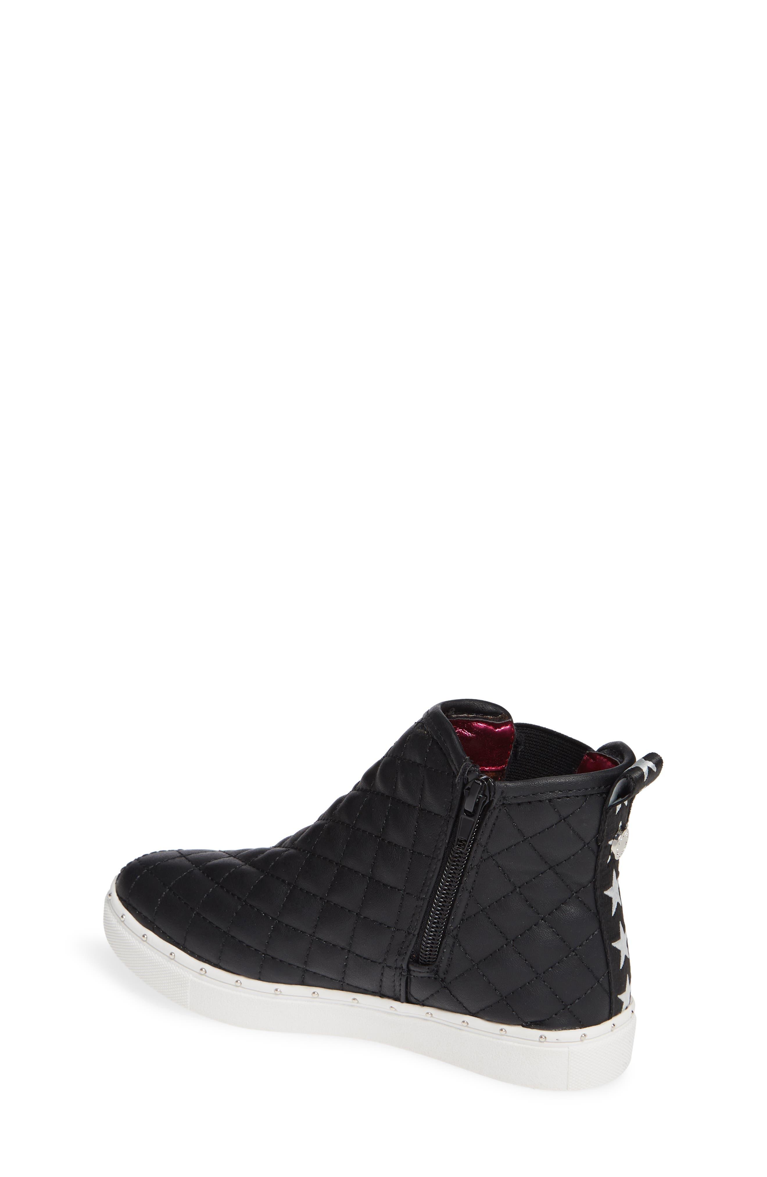 JQuest High Top Platform Sneaker,                             Alternate thumbnail 2, color,                             BLACK