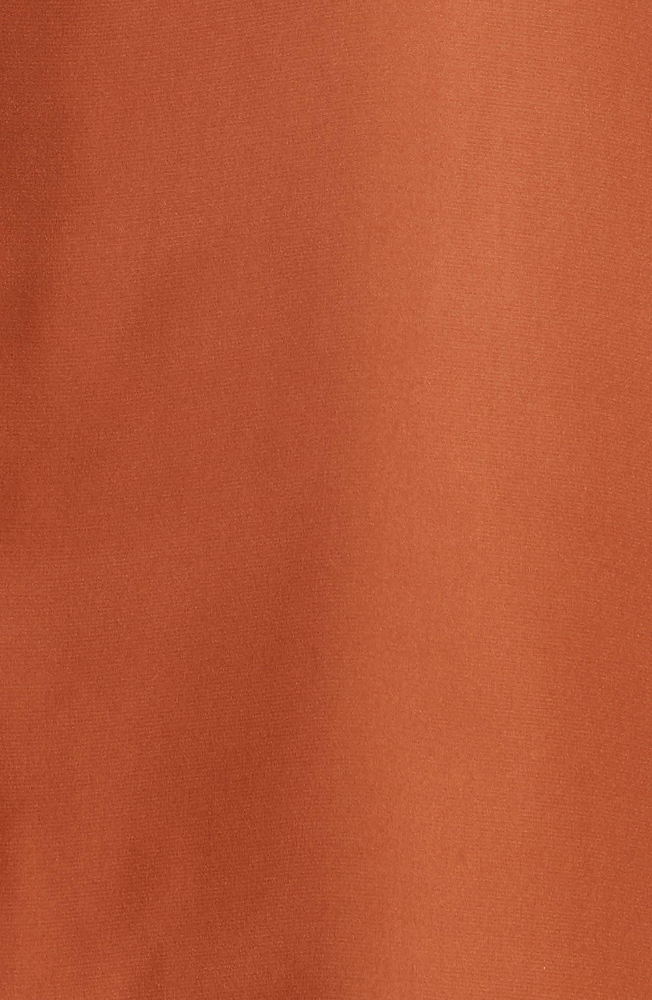 Daryn Matte Silk & Knit Combo Blouse,                             Alternate thumbnail 19, color,